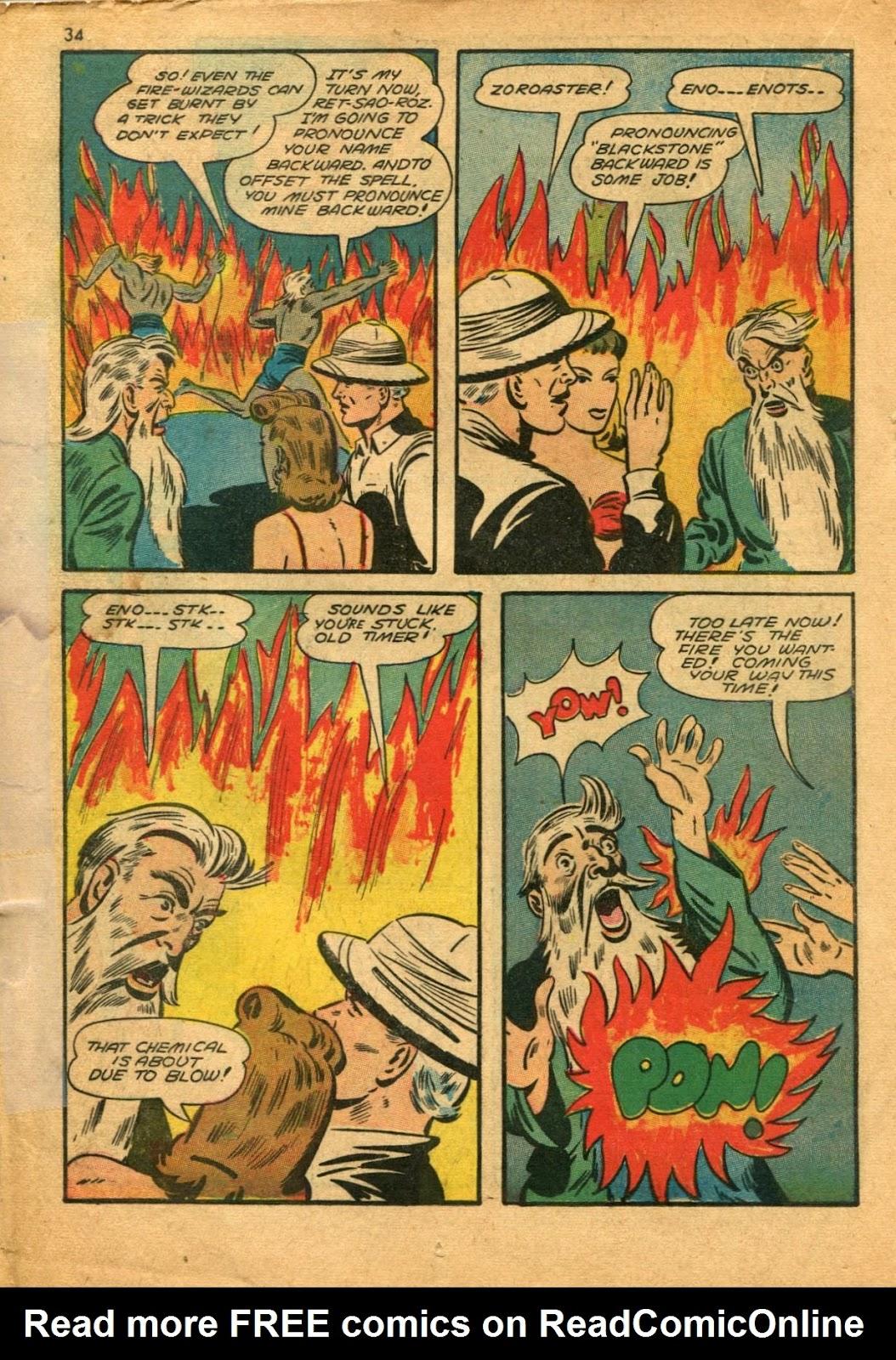 Read online Super-Magician Comics comic -  Issue #11 - 34