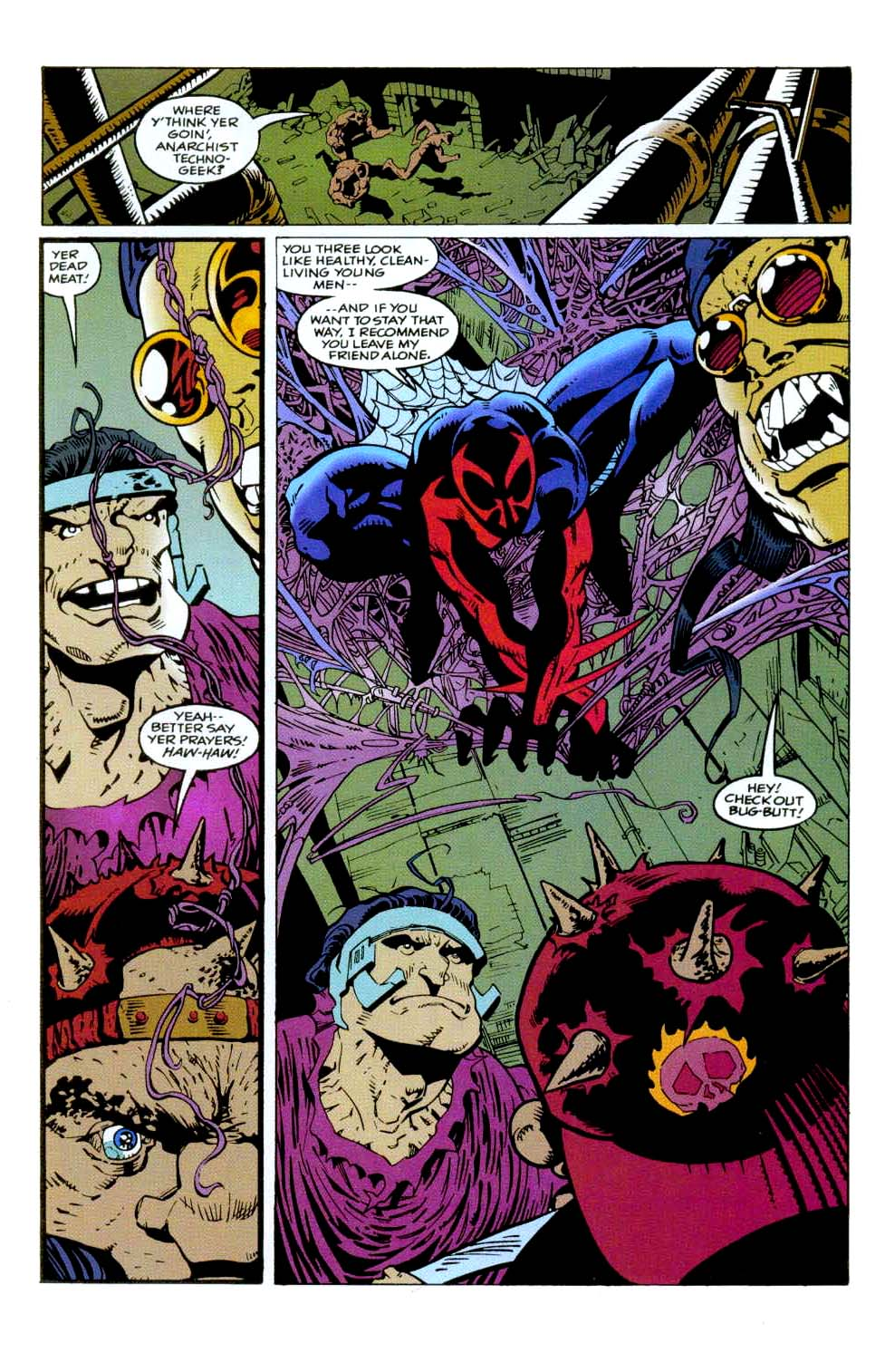 Read online 2099 Unlimited comic -  Issue #9 - 13