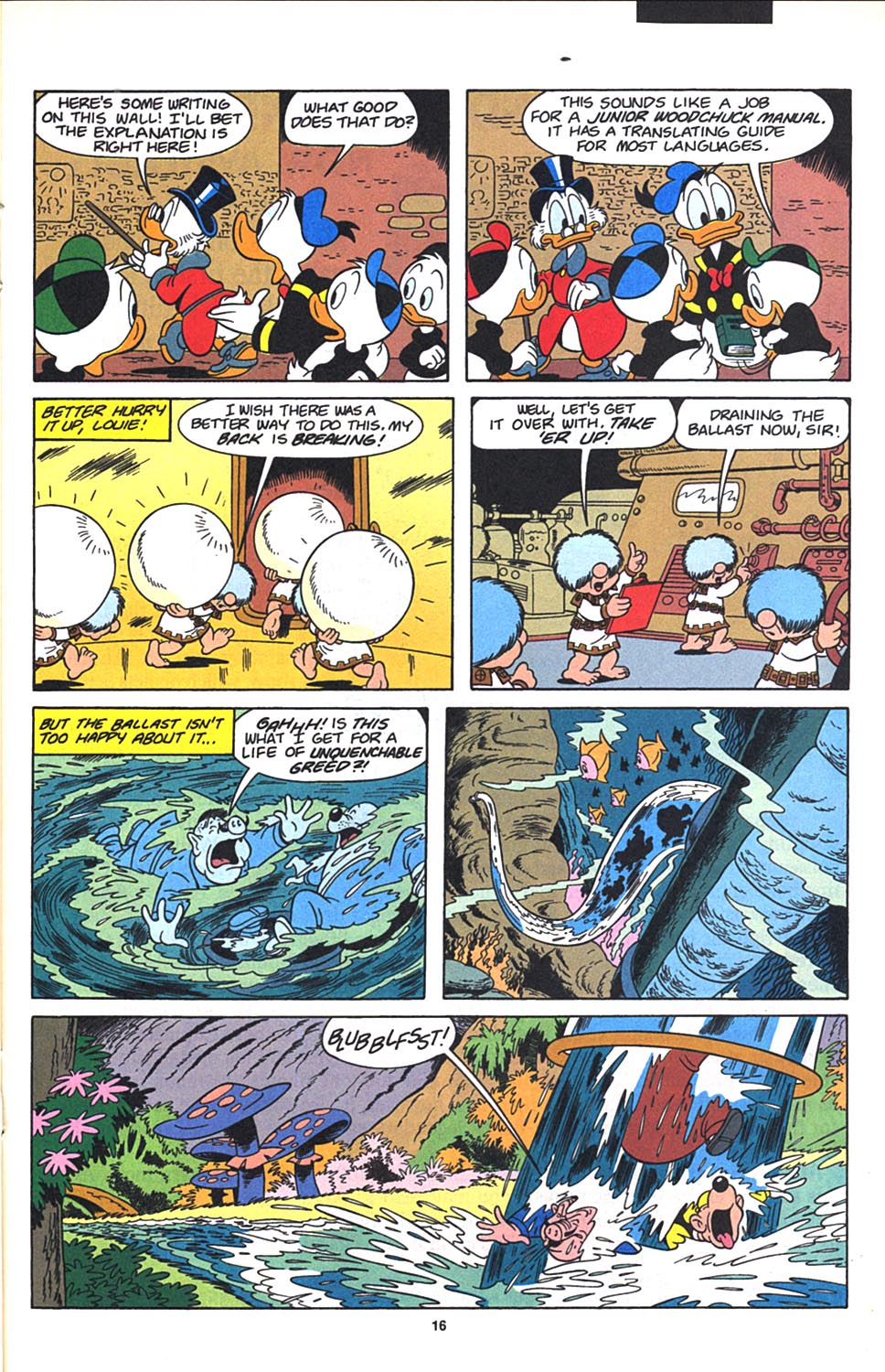 Read online Uncle Scrooge (1953) comic -  Issue #271 - 17