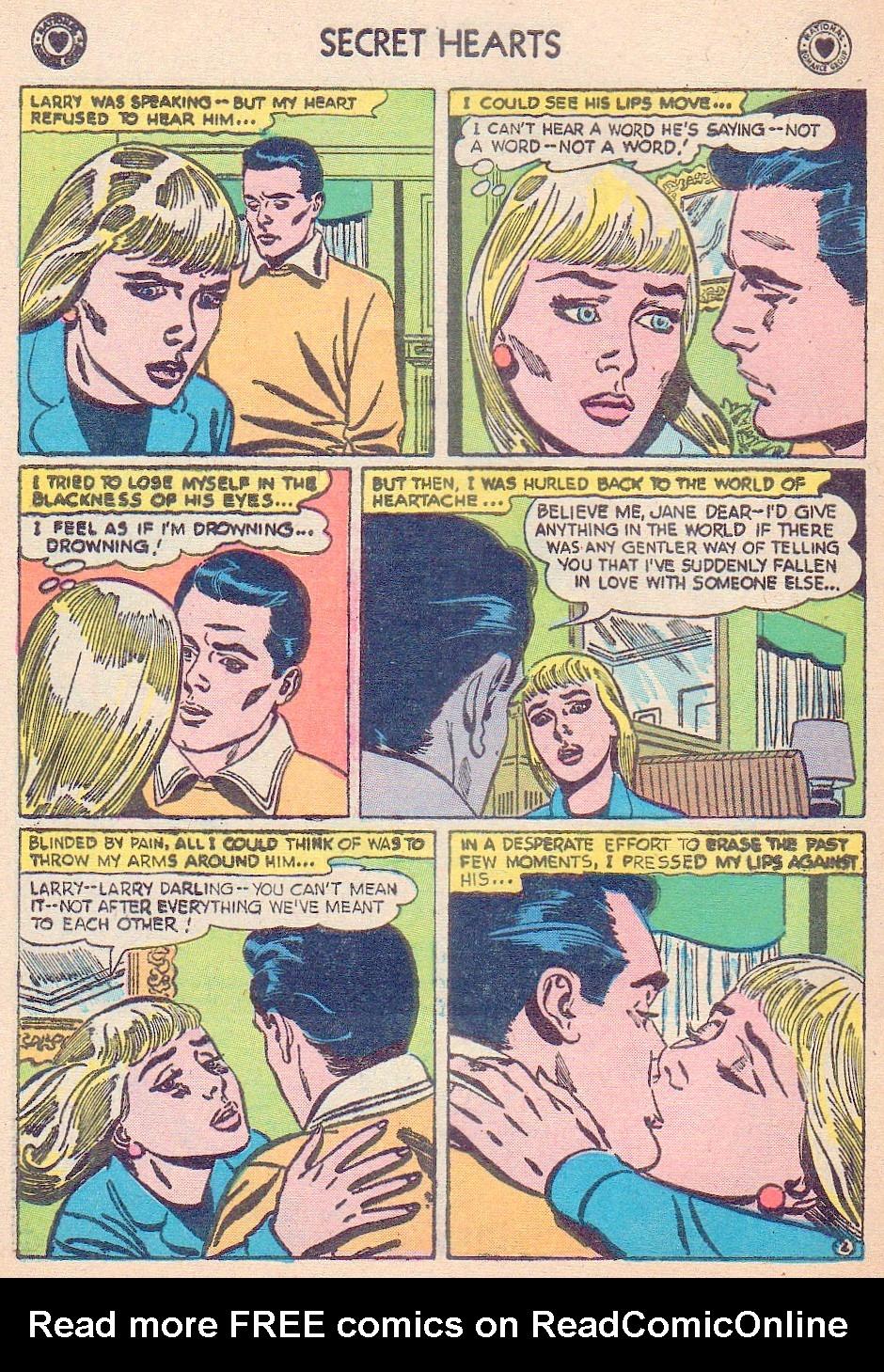 Read online Secret Hearts comic -  Issue #44 - 28