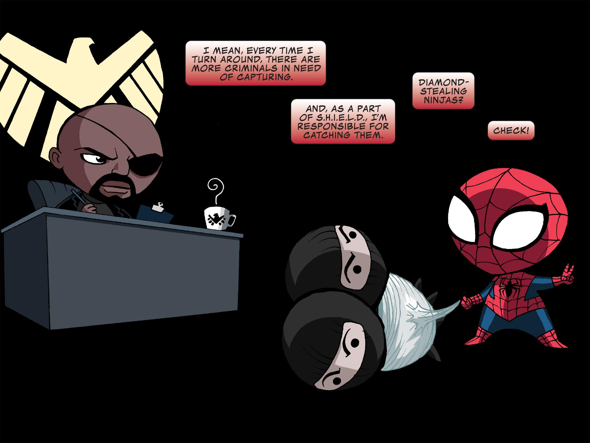 Read online Ultimate Spider-Man (Infinite Comics) (2015) comic -  Issue #12 - 16