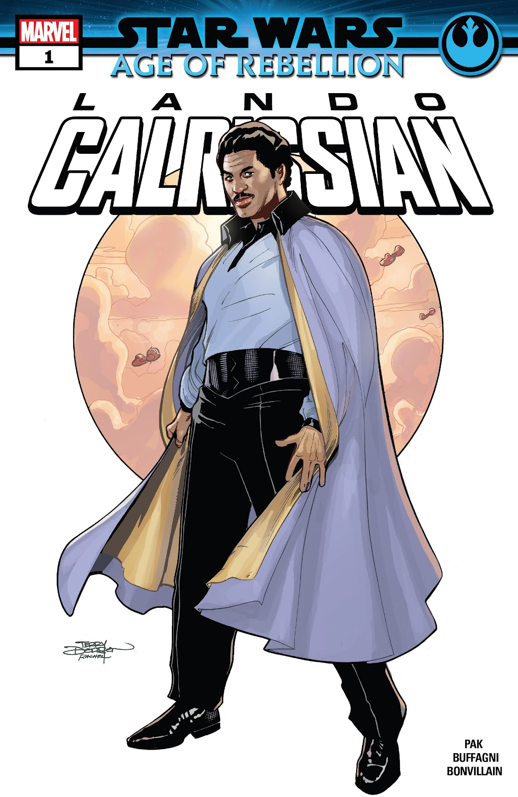Star Wars: Age Of Rebellion issue Lando Calrissian - Page 1