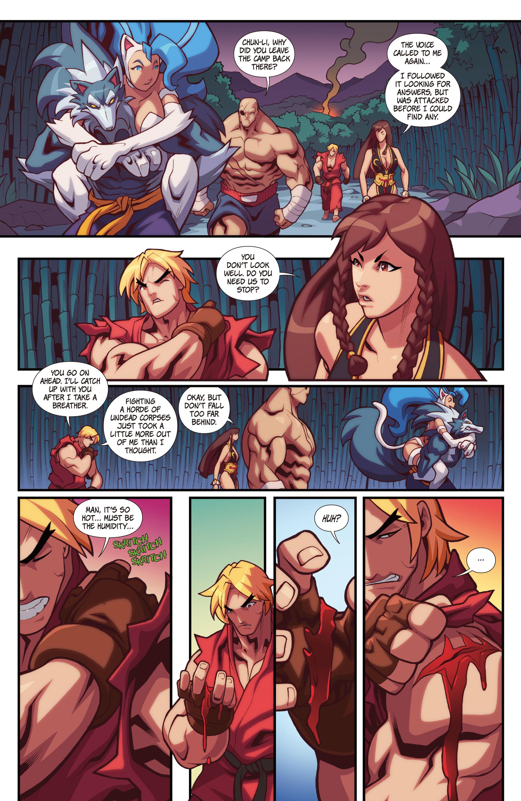 Read online Street Fighter VS Darkstalkers comic -  Issue #2 - 18