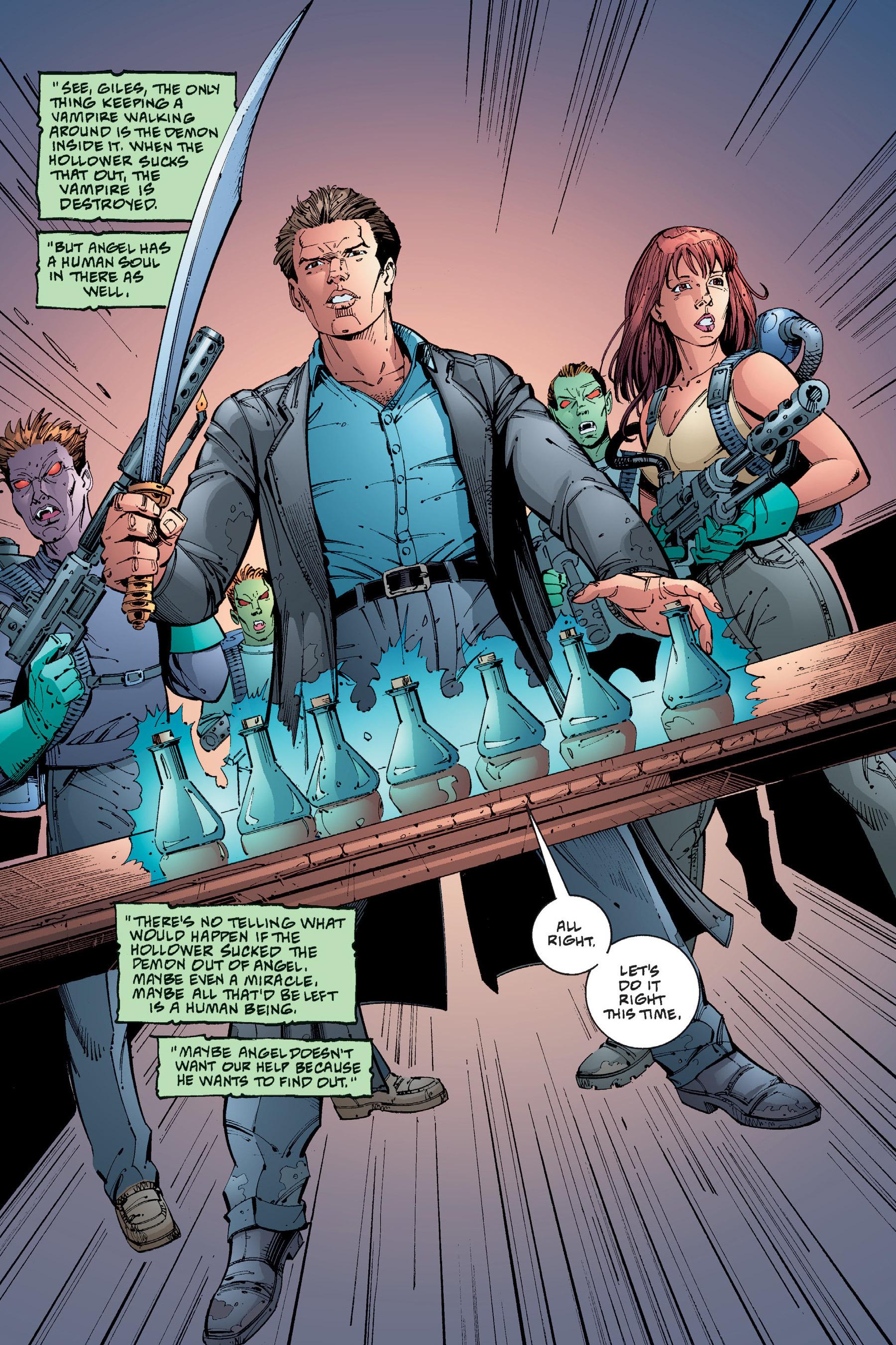 Read online Buffy the Vampire Slayer: Omnibus comic -  Issue # TPB 4 - 319