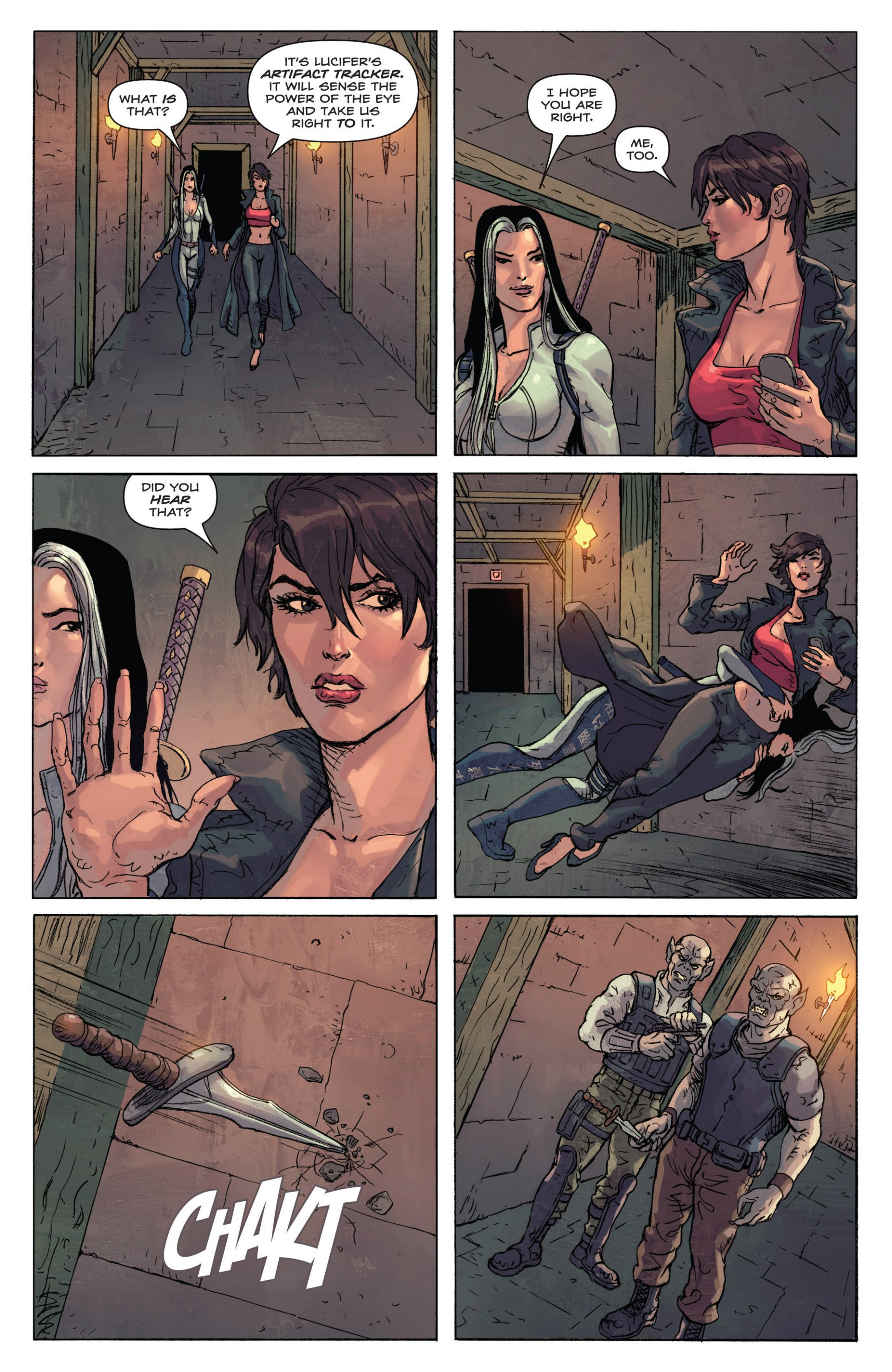 Read online Grimm Fairy Tales presents Inferno: Age of Darkness comic -  Issue # Full - 34