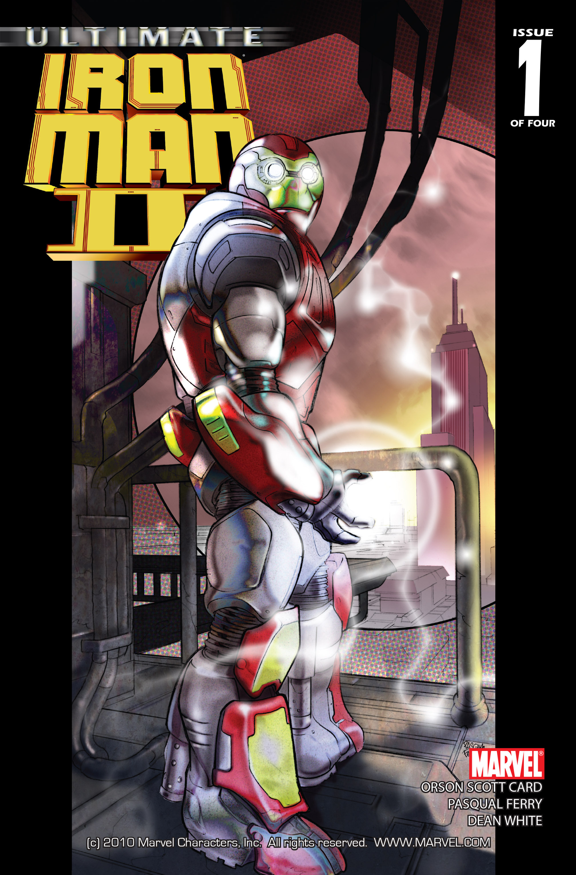 Read online Ultimate Iron Man II comic -  Issue #1 - 1