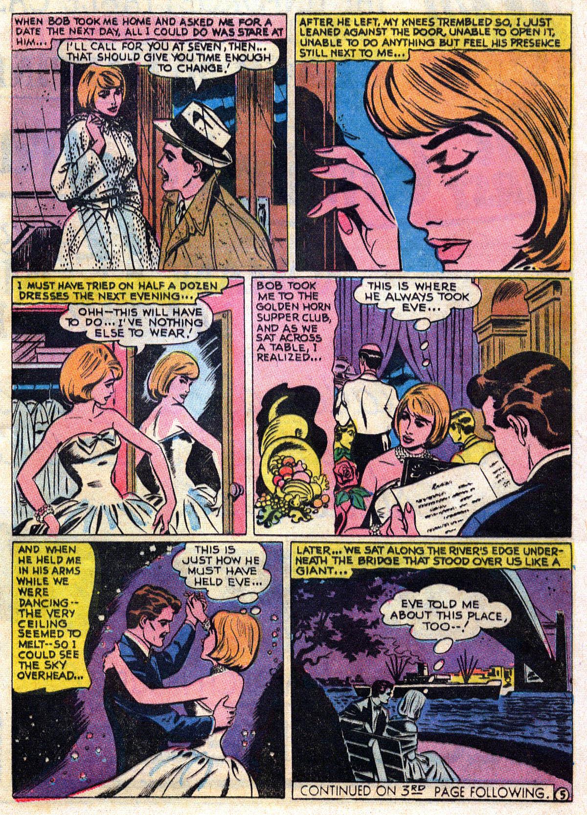 Read online Secret Hearts comic -  Issue #109 - 17