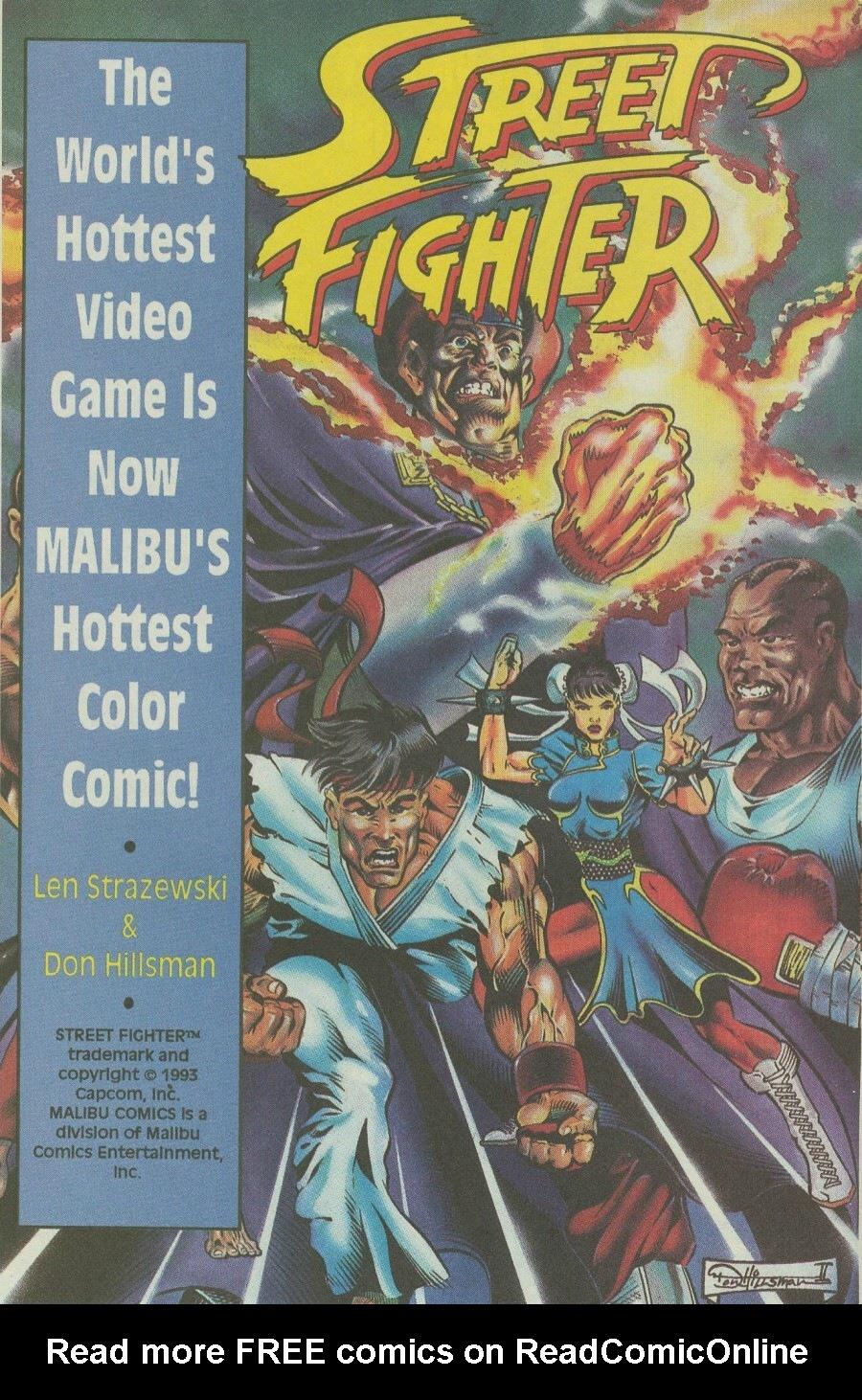 Read online Ex-Mutants comic -  Issue #6 - 12