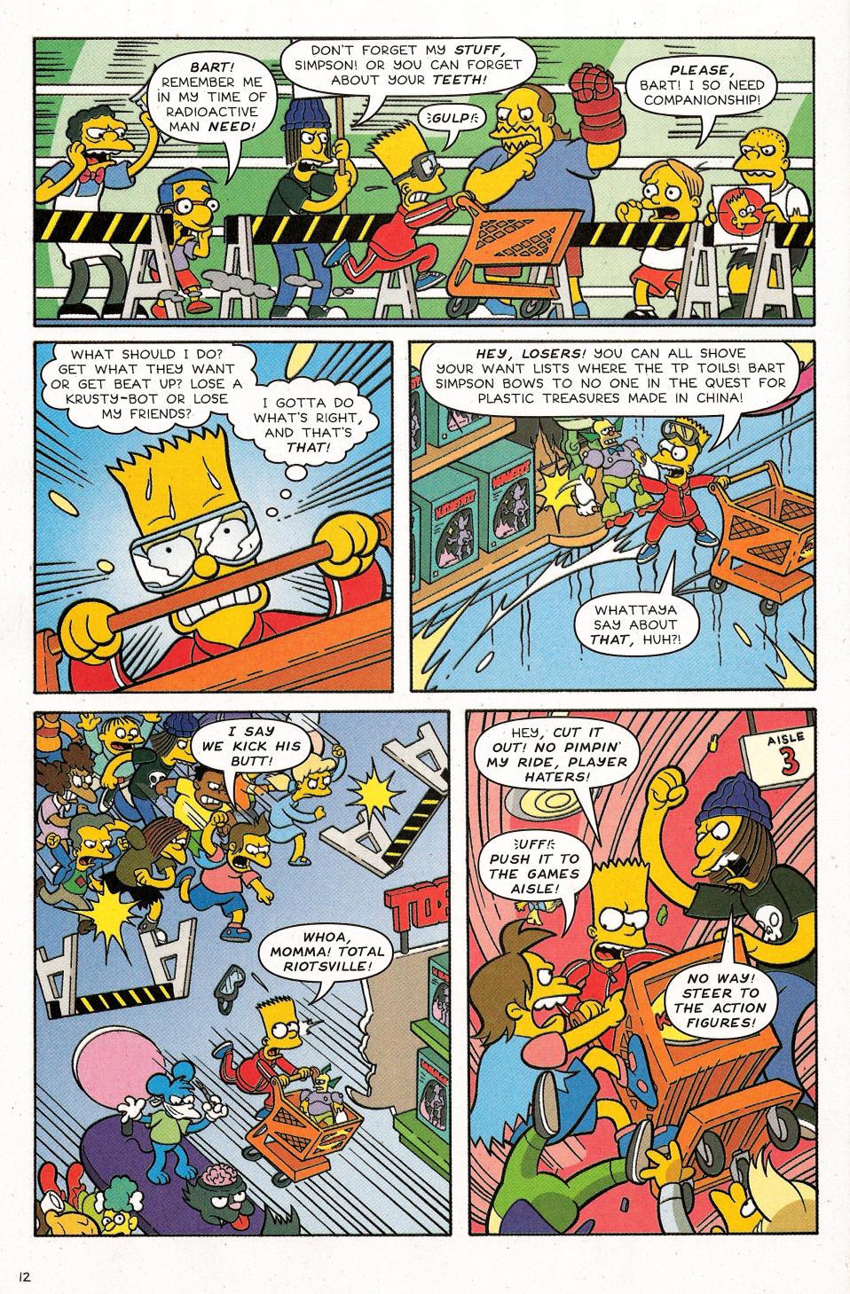 Read online Simpsons Comics Presents Bart Simpson comic -  Issue #31 - 14