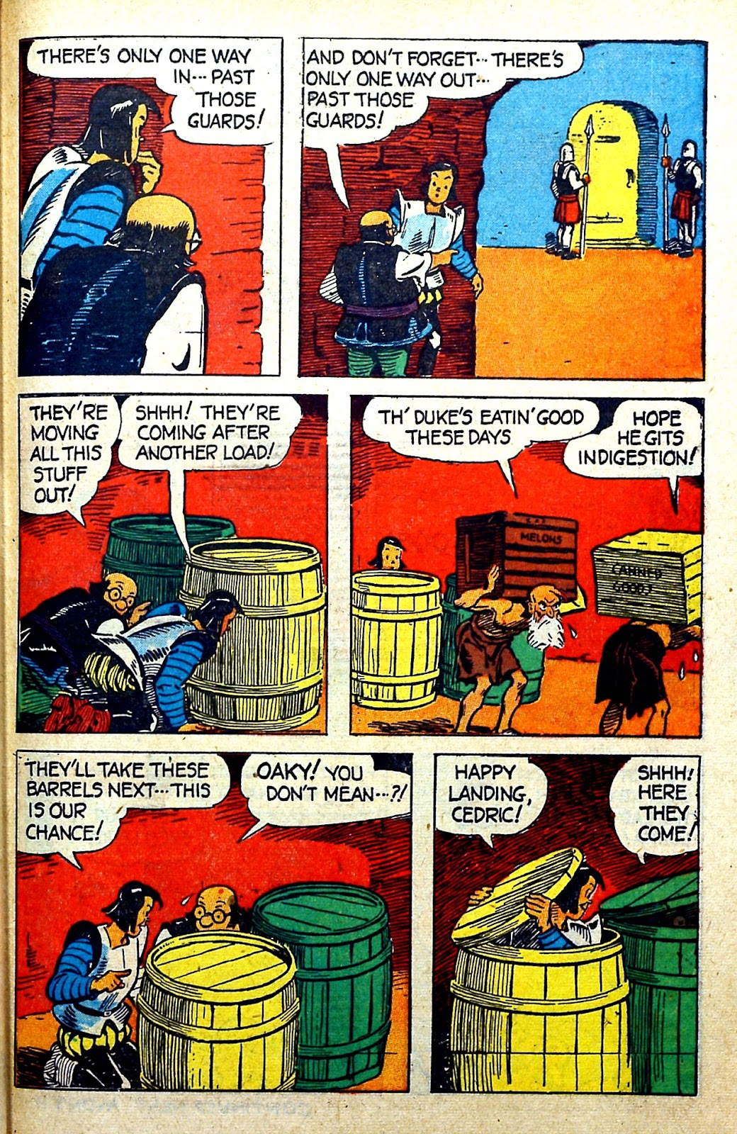 Read online Famous Funnies comic -  Issue #141 - 47