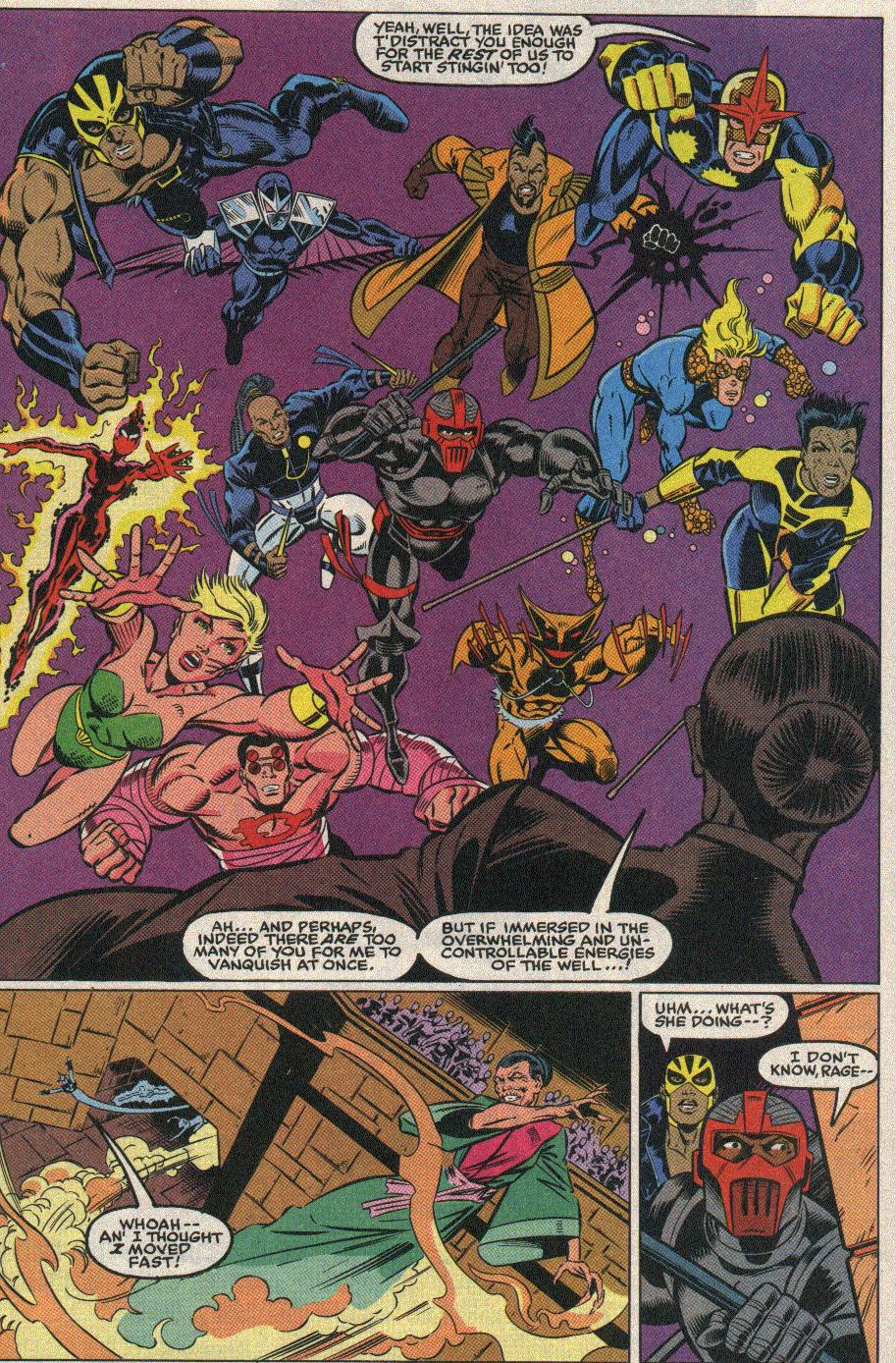 The New Warriors Issue #25 #29 - English 6