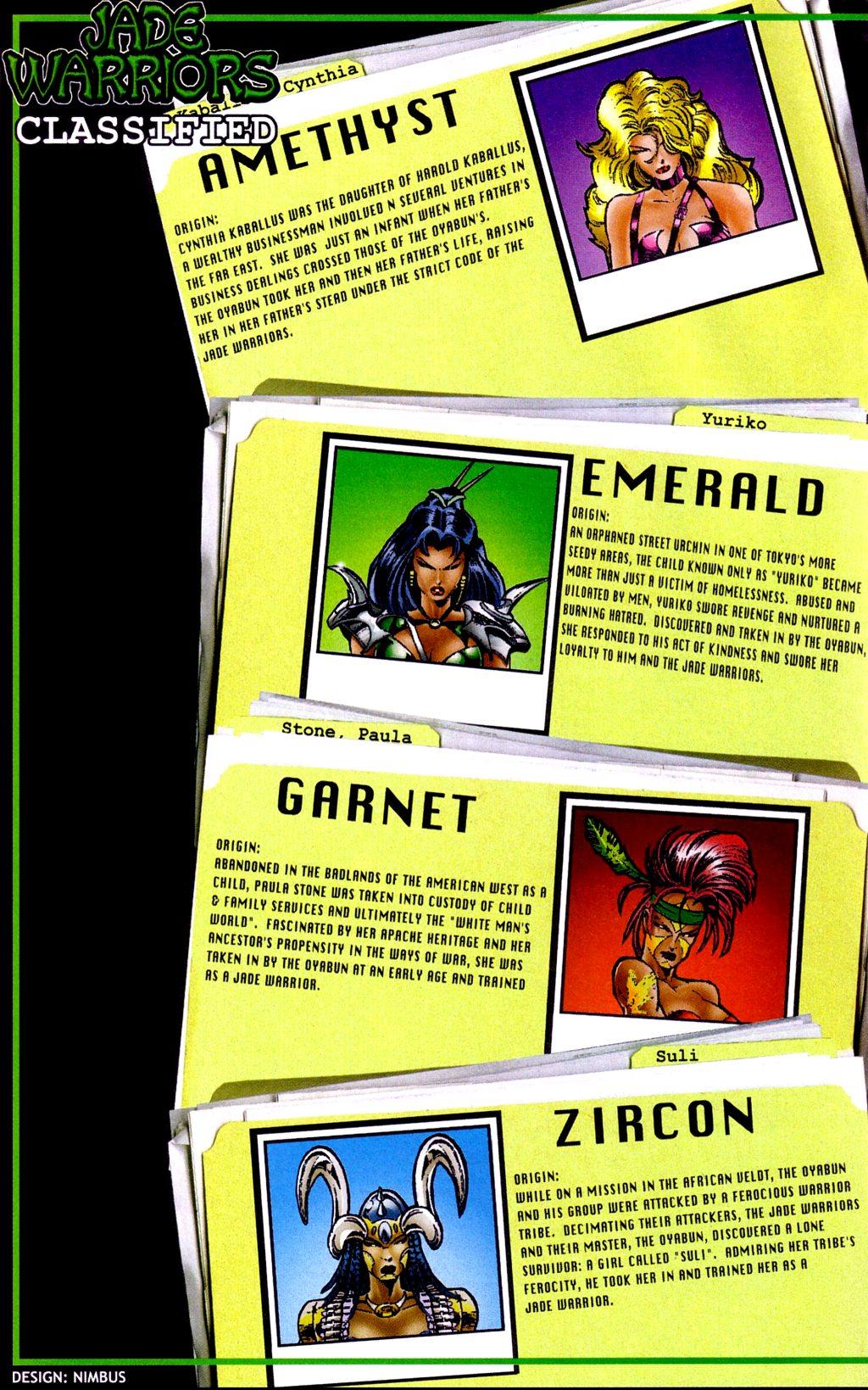 Read online Jade Warriors comic -  Issue #3 - 18