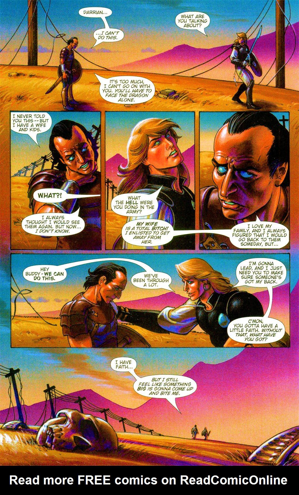 Read online Dawn: Three Tiers comic -  Issue #3 - 12