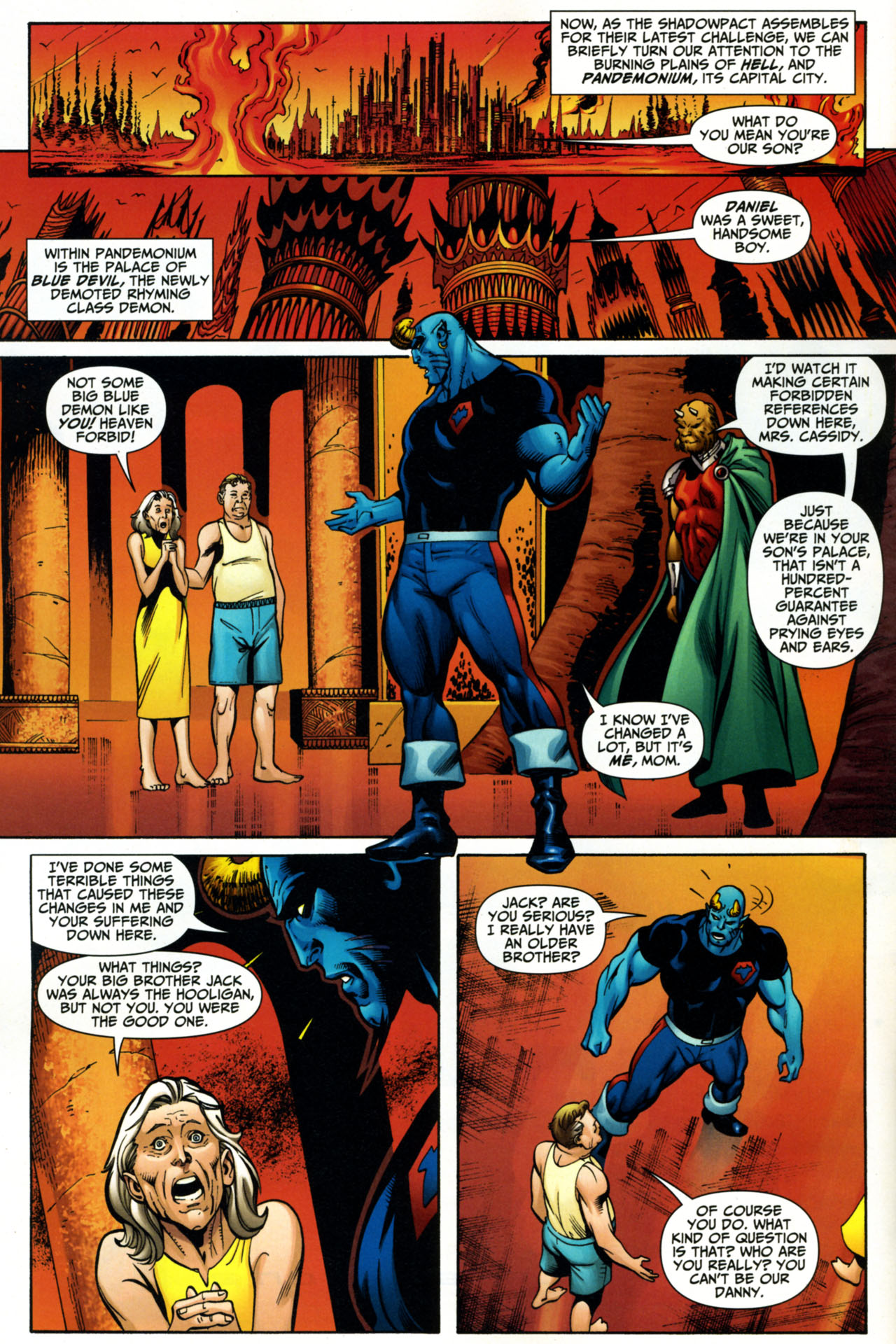 Read online Shadowpact comic -  Issue #15 - 8