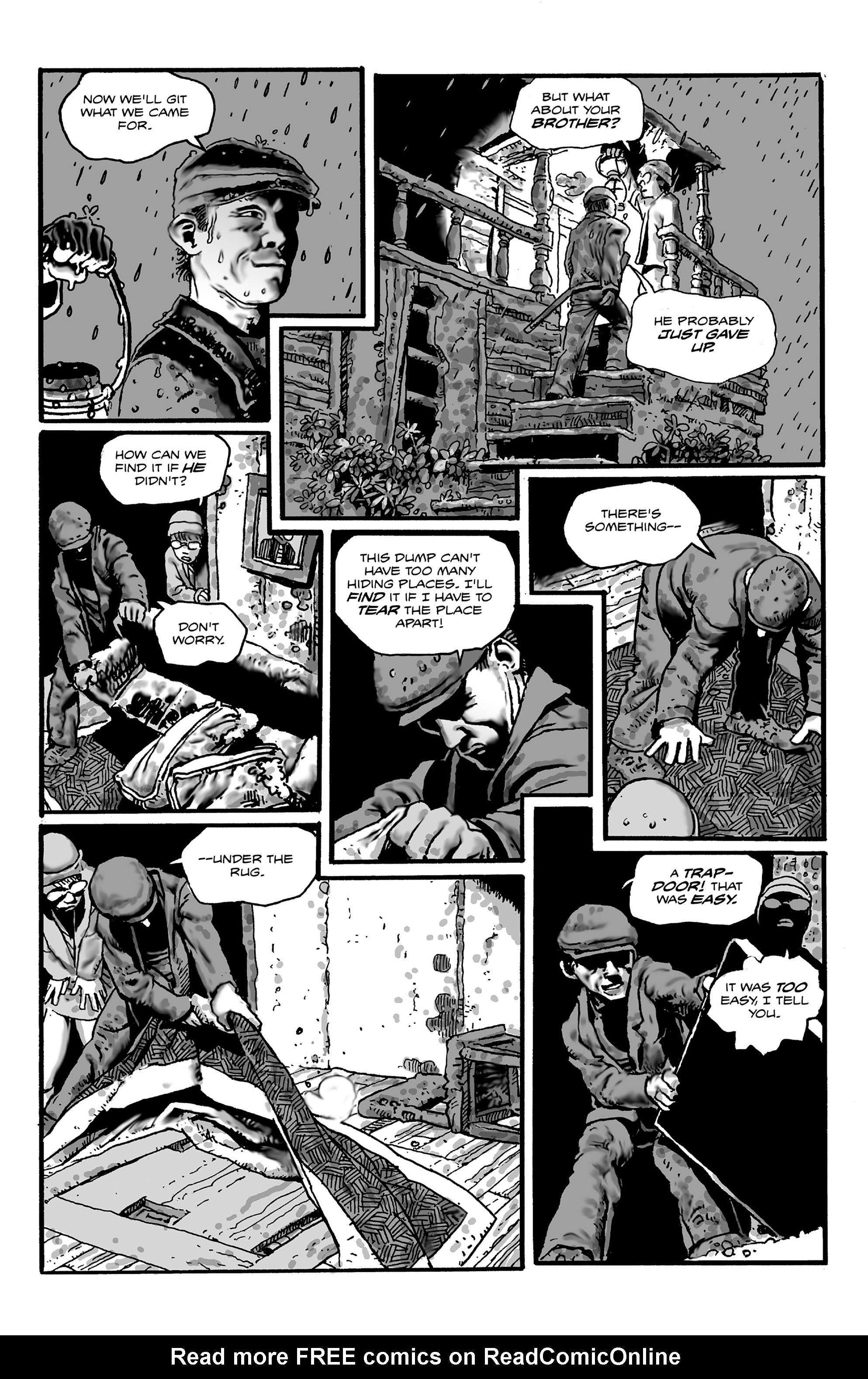 Read online Shadows on the Grave comic -  Issue #2 - 8