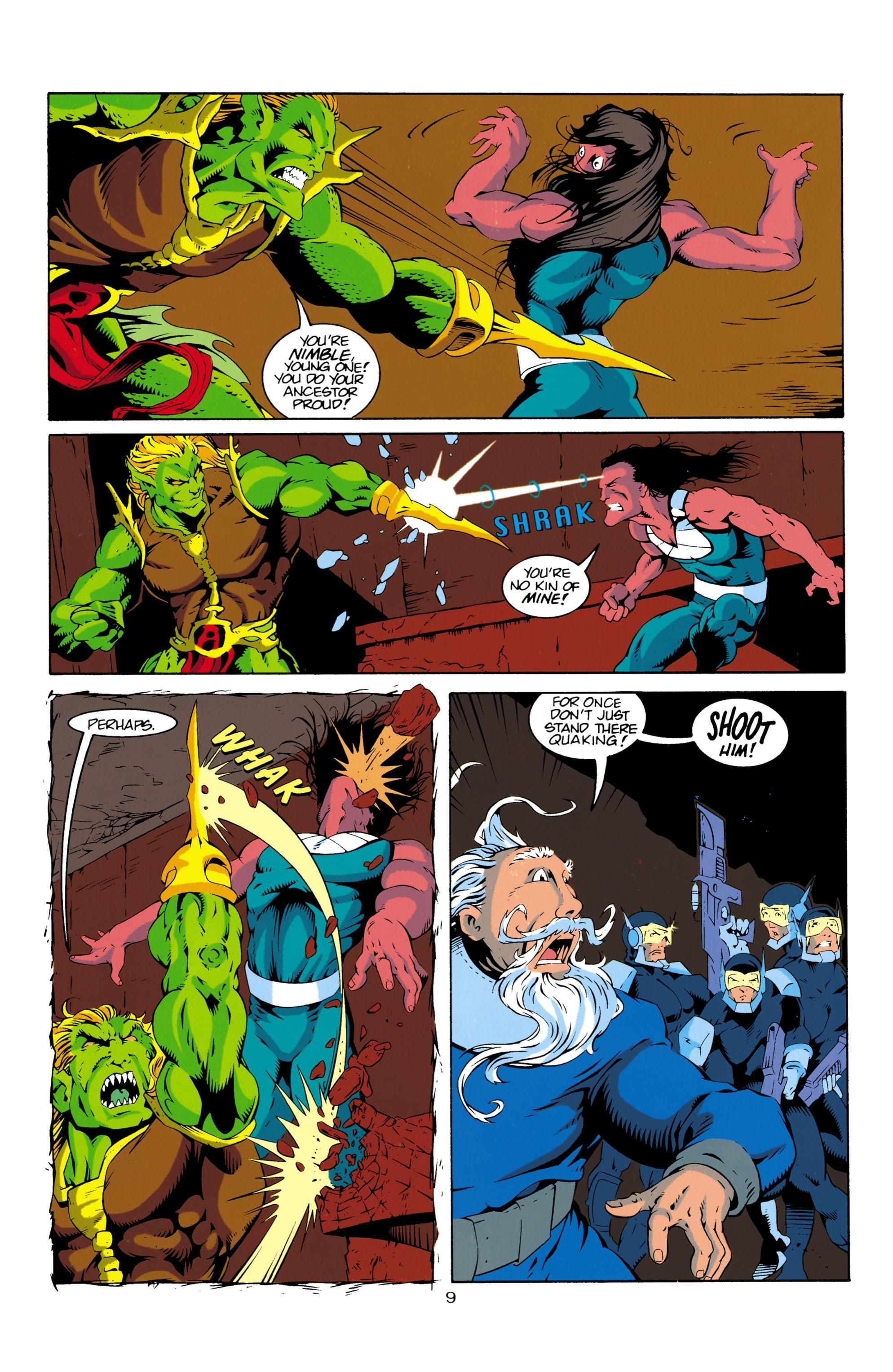 Read online Aquaman (1994) comic -  Issue #16 - 10