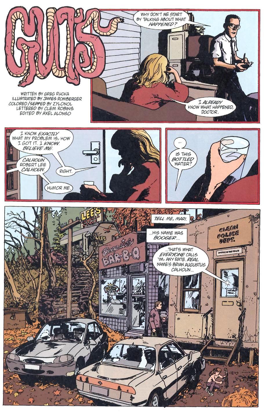 Read online Flinch comic -  Issue #8 - 2