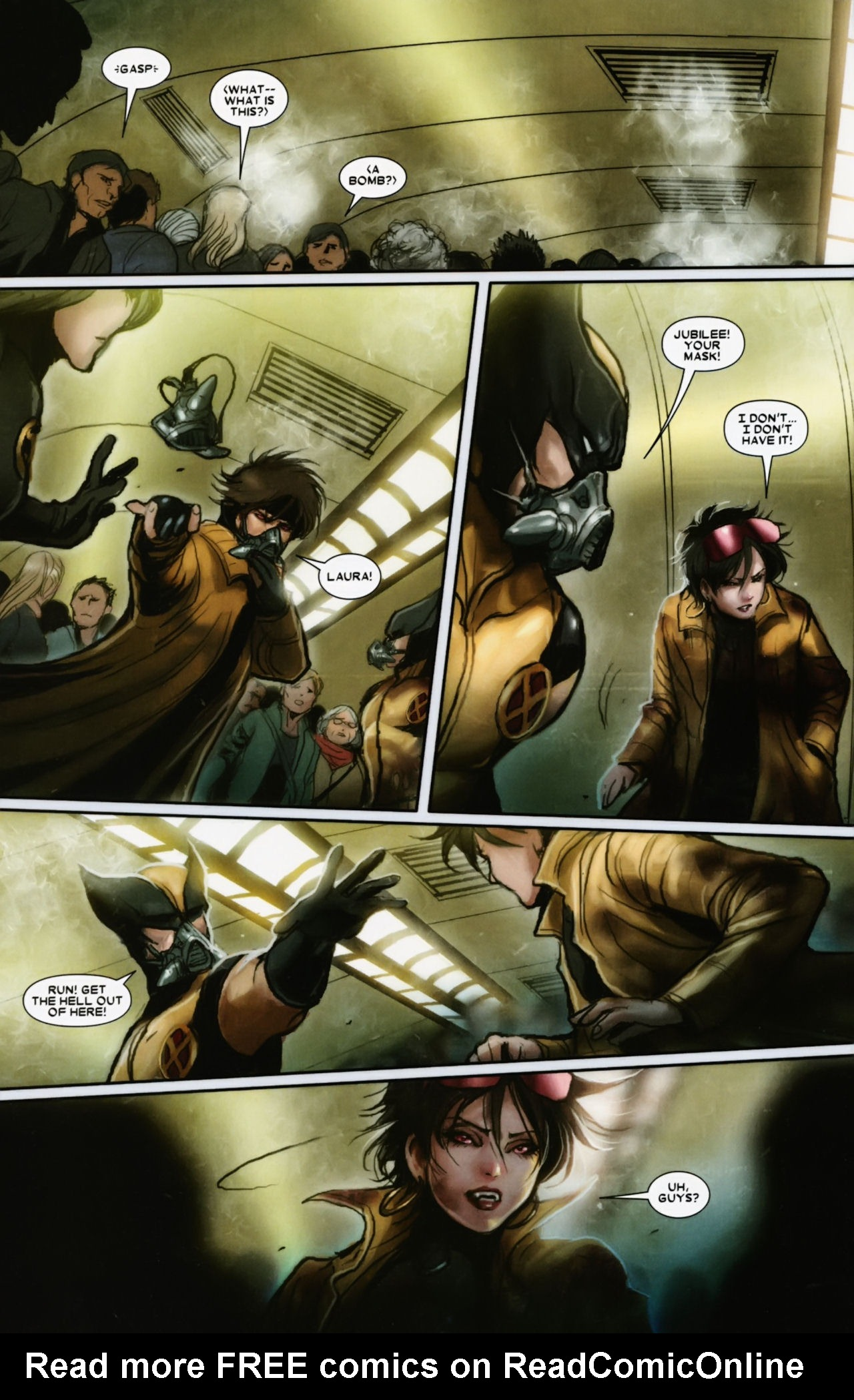 Read online X-23 (2010) comic -  Issue #12 - 10