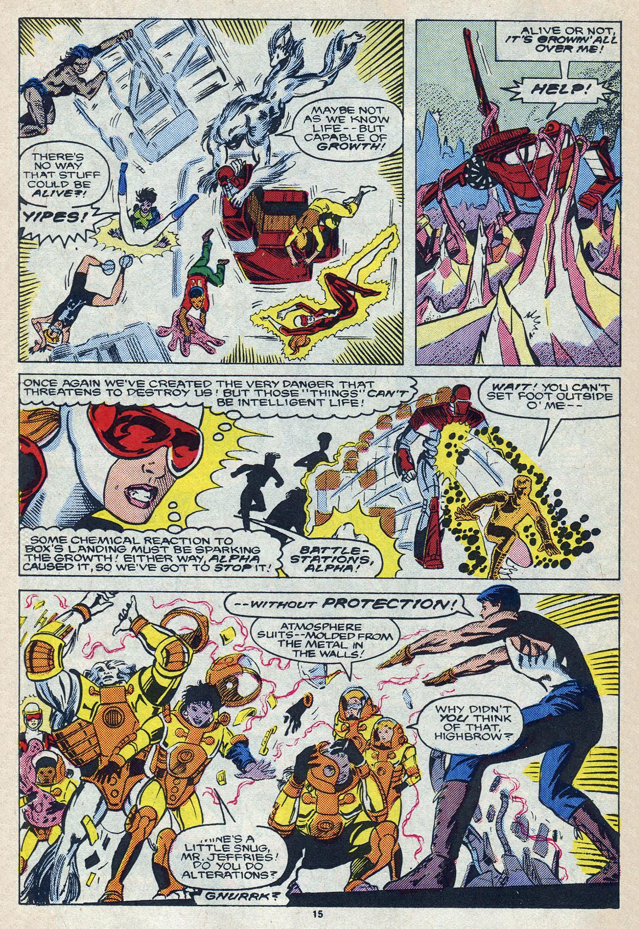Read online Alpha Flight (1983) comic -  Issue #57 - 21