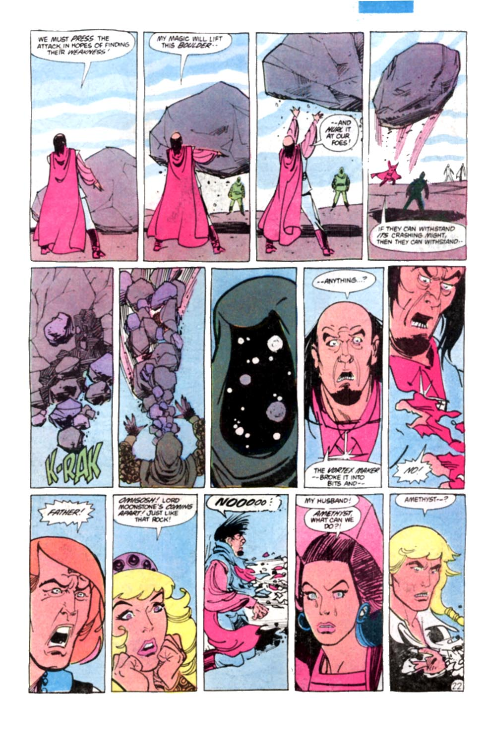 Read online Amethyst, Princess of Gemworld comic -  Issue #8 - 23