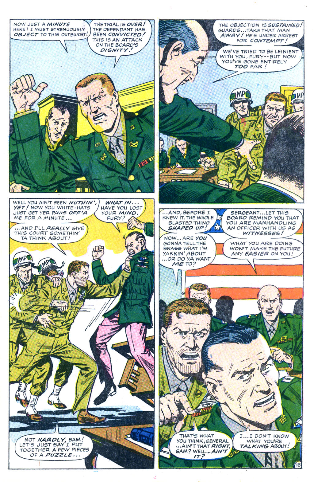 Read online Sgt. Fury comic -  Issue #60 - 23