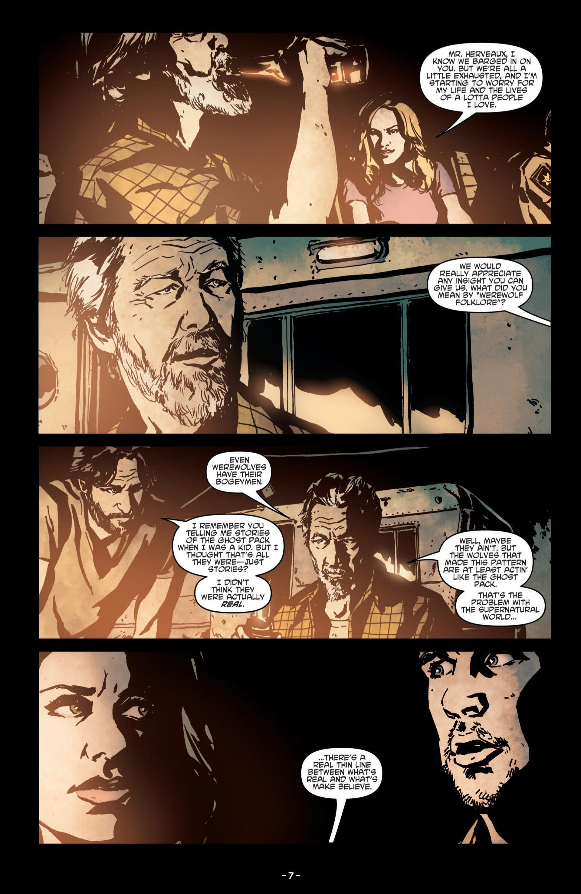 Read online True Blood (2012) comic -  Issue #8 - 9
