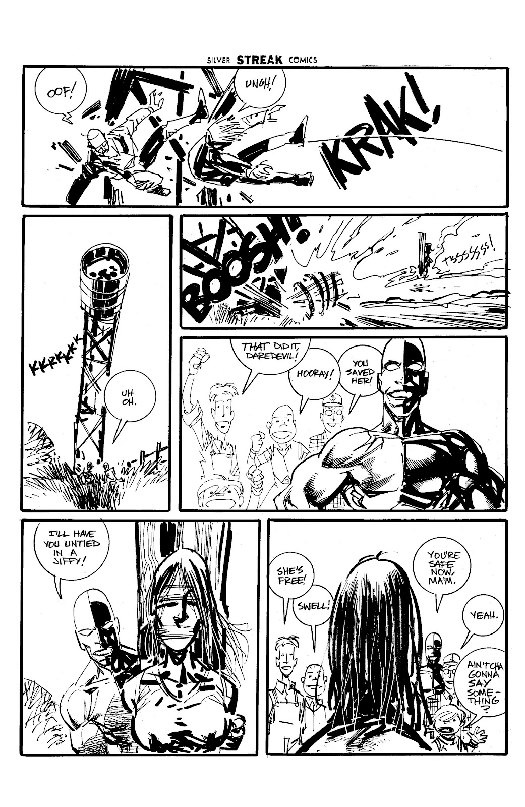 Read online Savage Dragon Archives comic -  Issue # TPB 6 (Part 5) - 56
