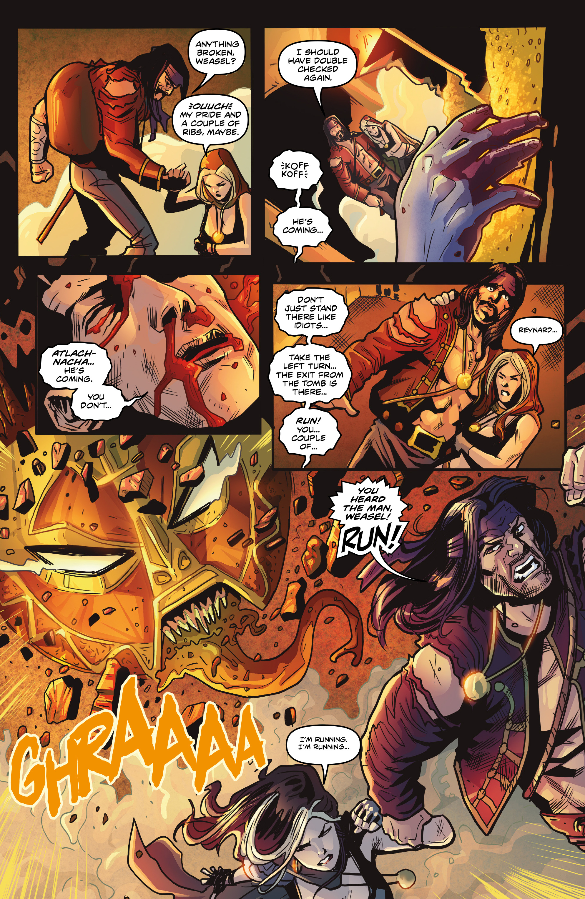 Read online Rogues!: The Burning Heart comic -  Issue #5 - 19