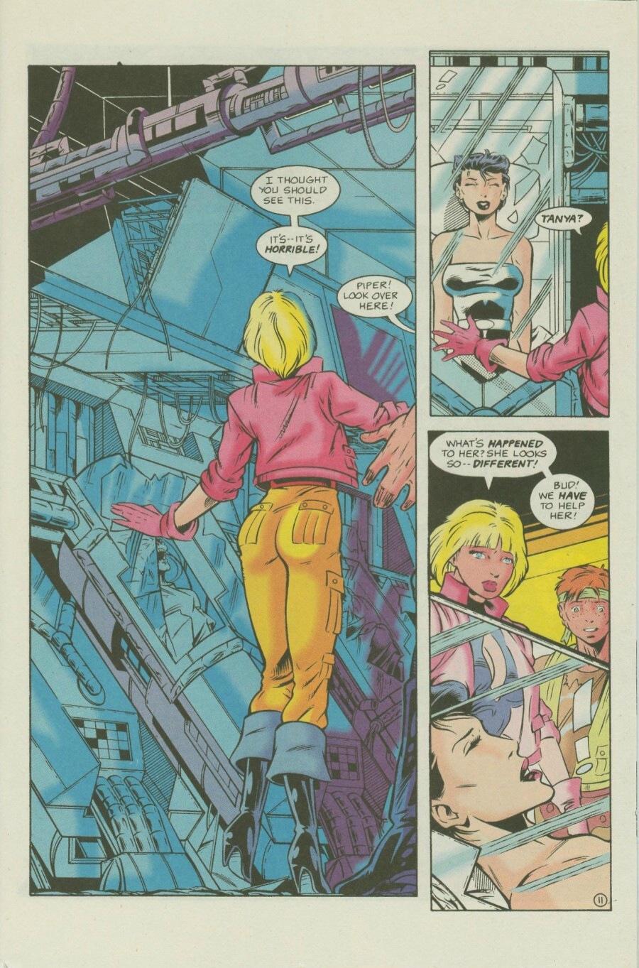 Read online Ex-Mutants comic -  Issue #7 - 14
