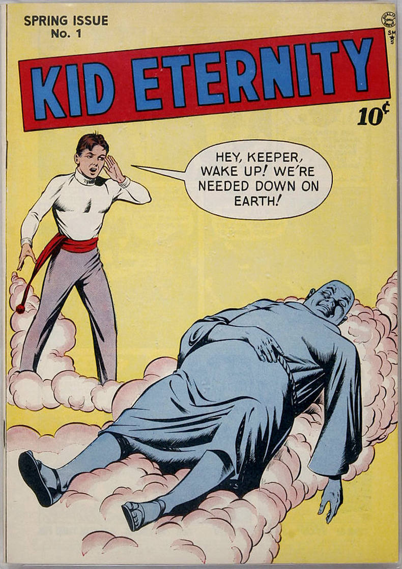 Kid Eternity (1946) issue 1 - Page 1
