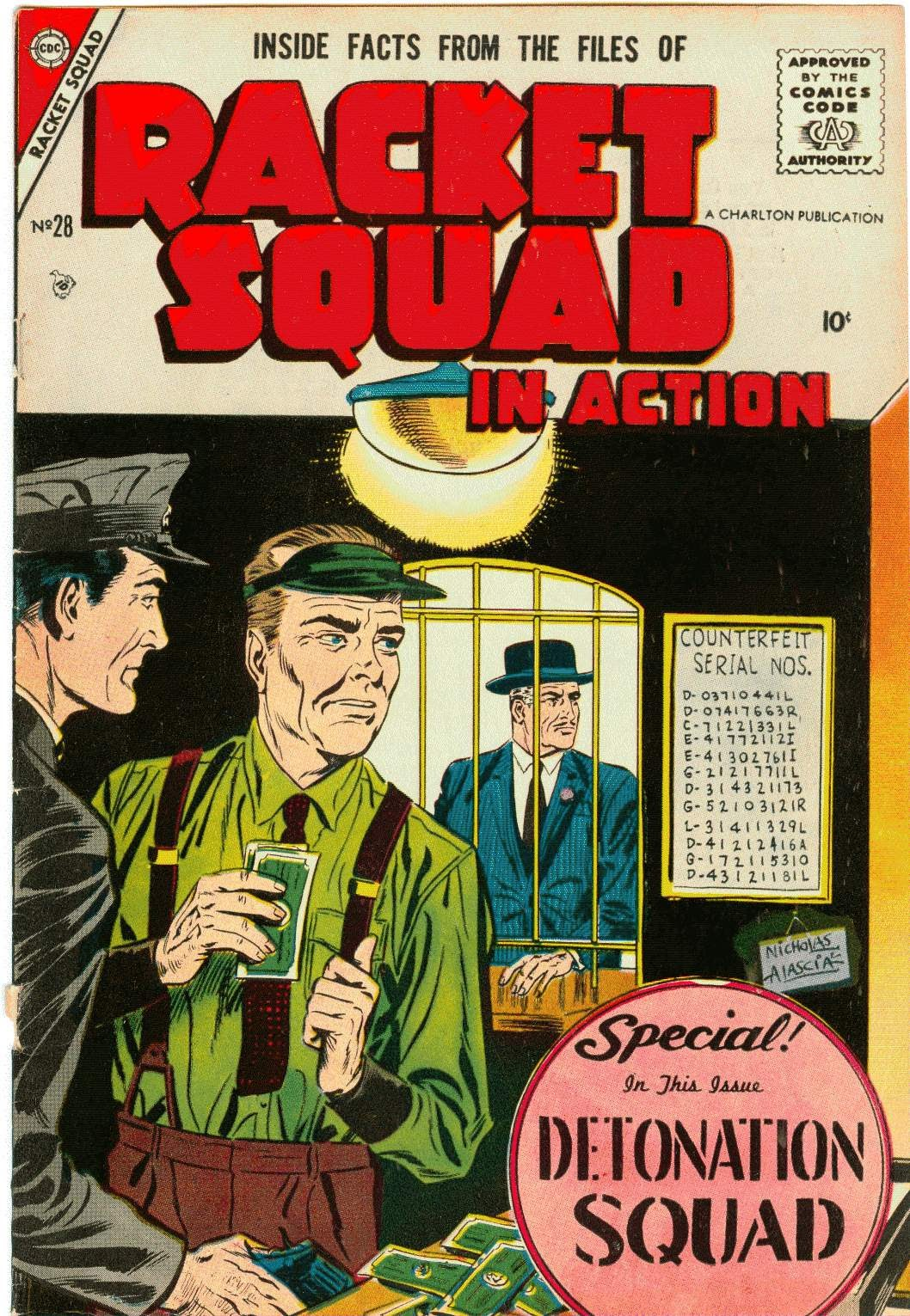 Racket Squad in Action issue 28 - Page 1