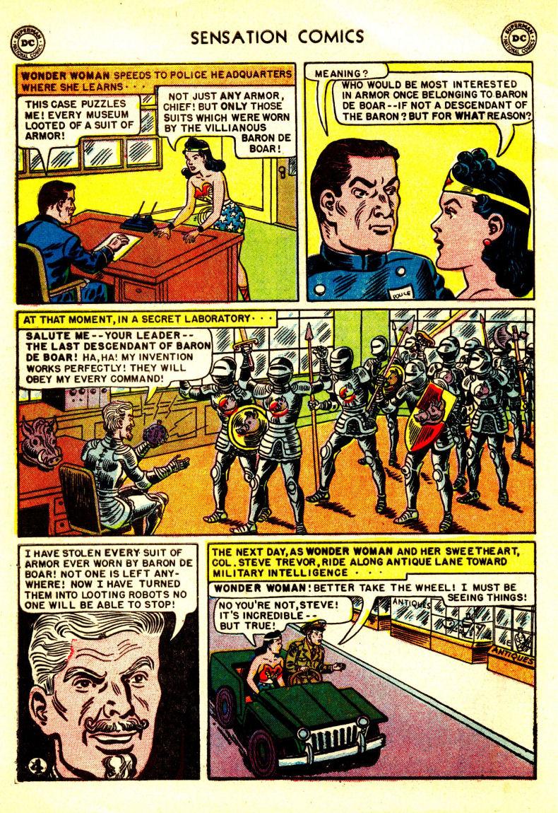 Read online Sensation (Mystery) Comics comic -  Issue #106 - 6