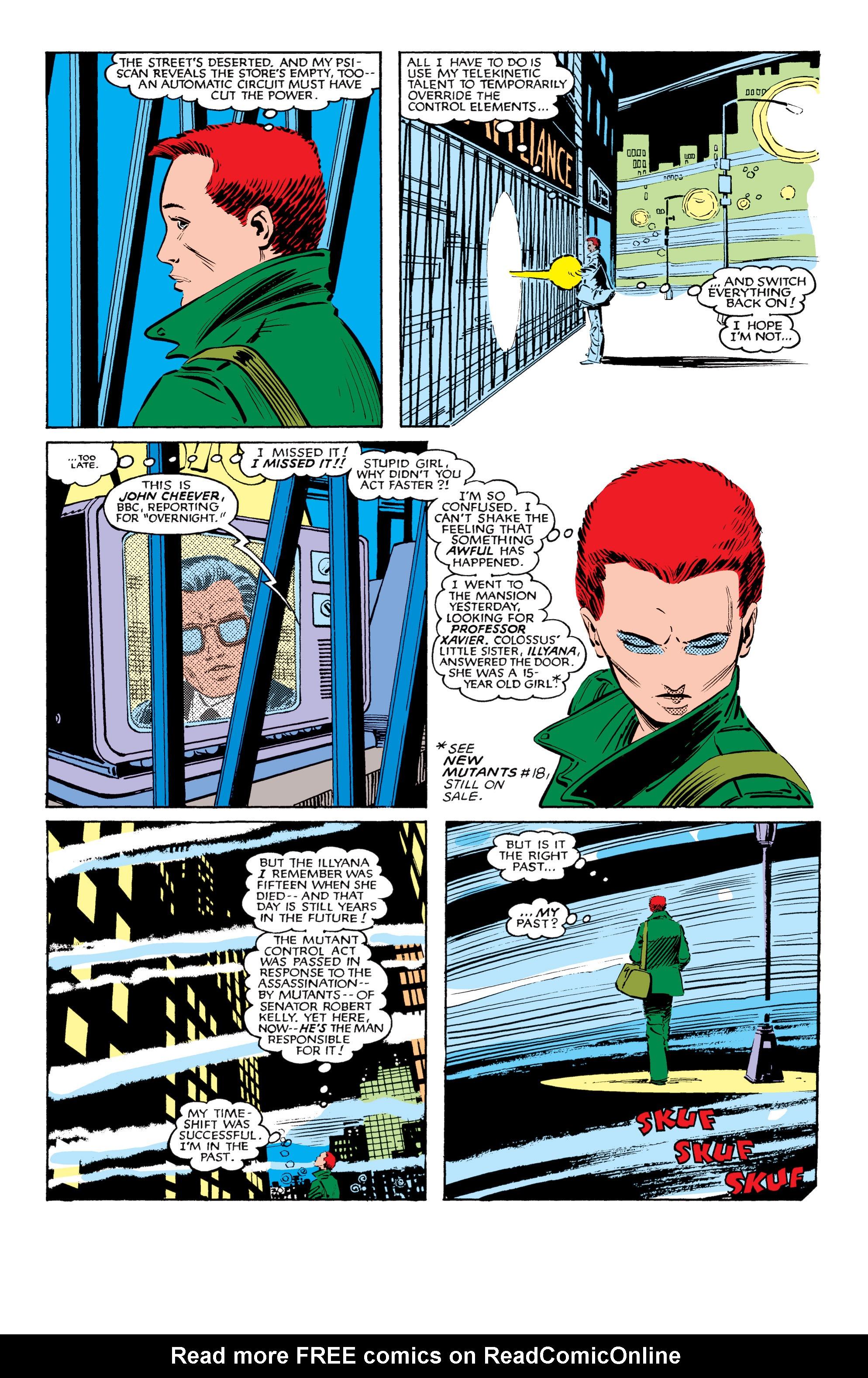 Read online Uncanny X-Men (1963) comic -  Issue #184 - 8