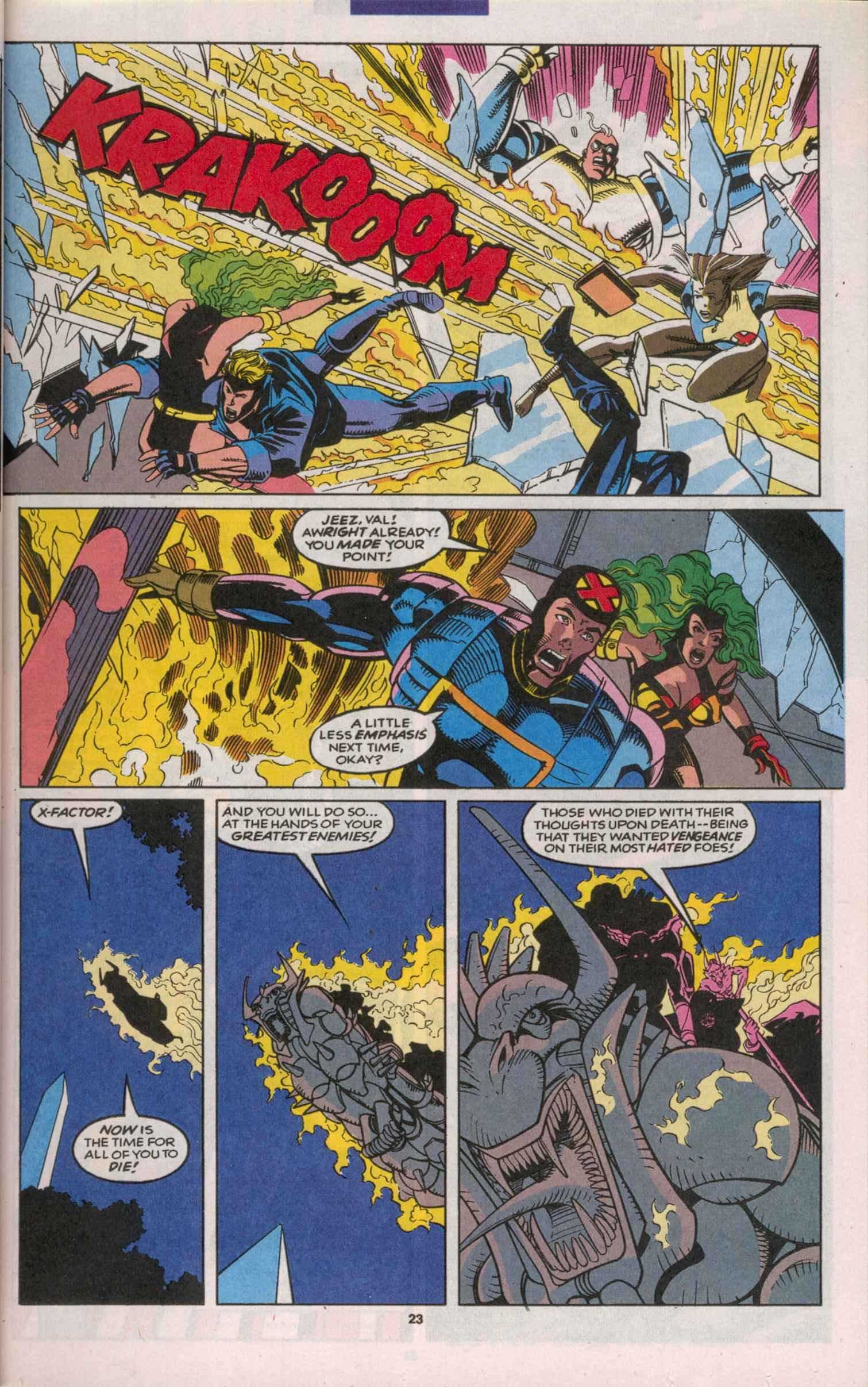 Read online X-Factor (1986) comic -  Issue # _ Annual 8 - 21