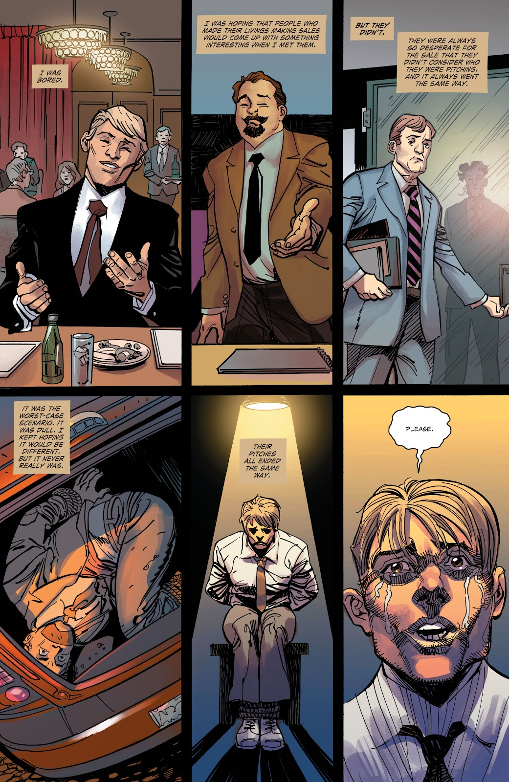Read online The Curse of Brimstone: Ashes comic -  Issue # TPB (Part 2) - 1