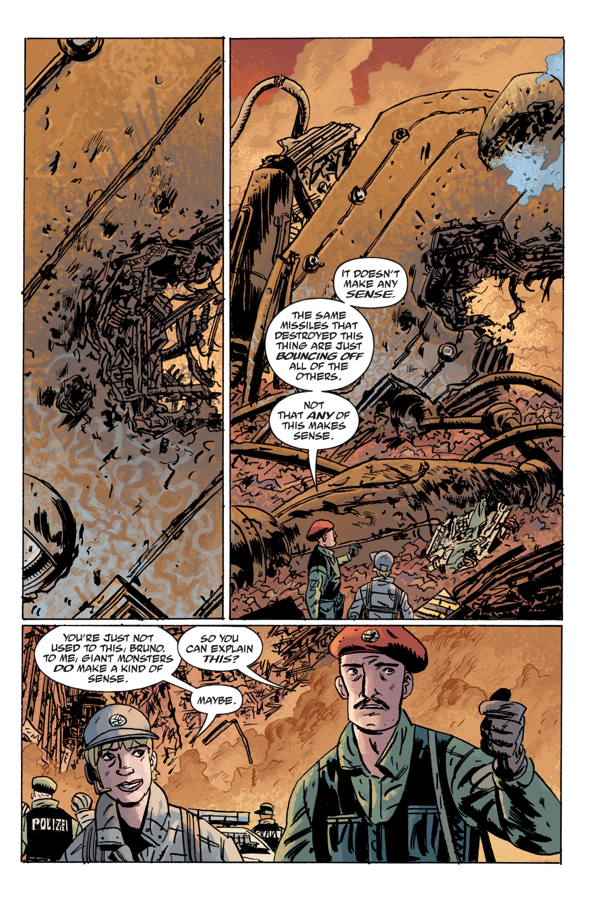 Read online B.P.R.D. (2003) comic -  Issue # TPB 10 - 96