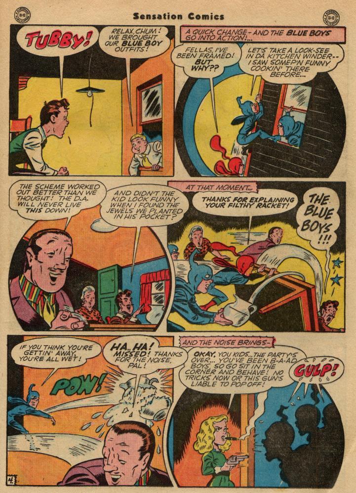 Read online Sensation (Mystery) Comics comic -  Issue #49 - 19