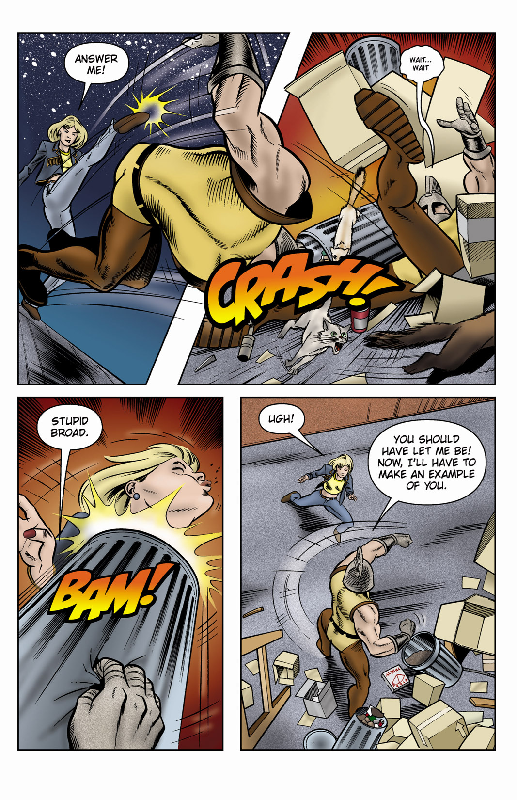 Read online SideChicks comic -  Issue #3 - 9