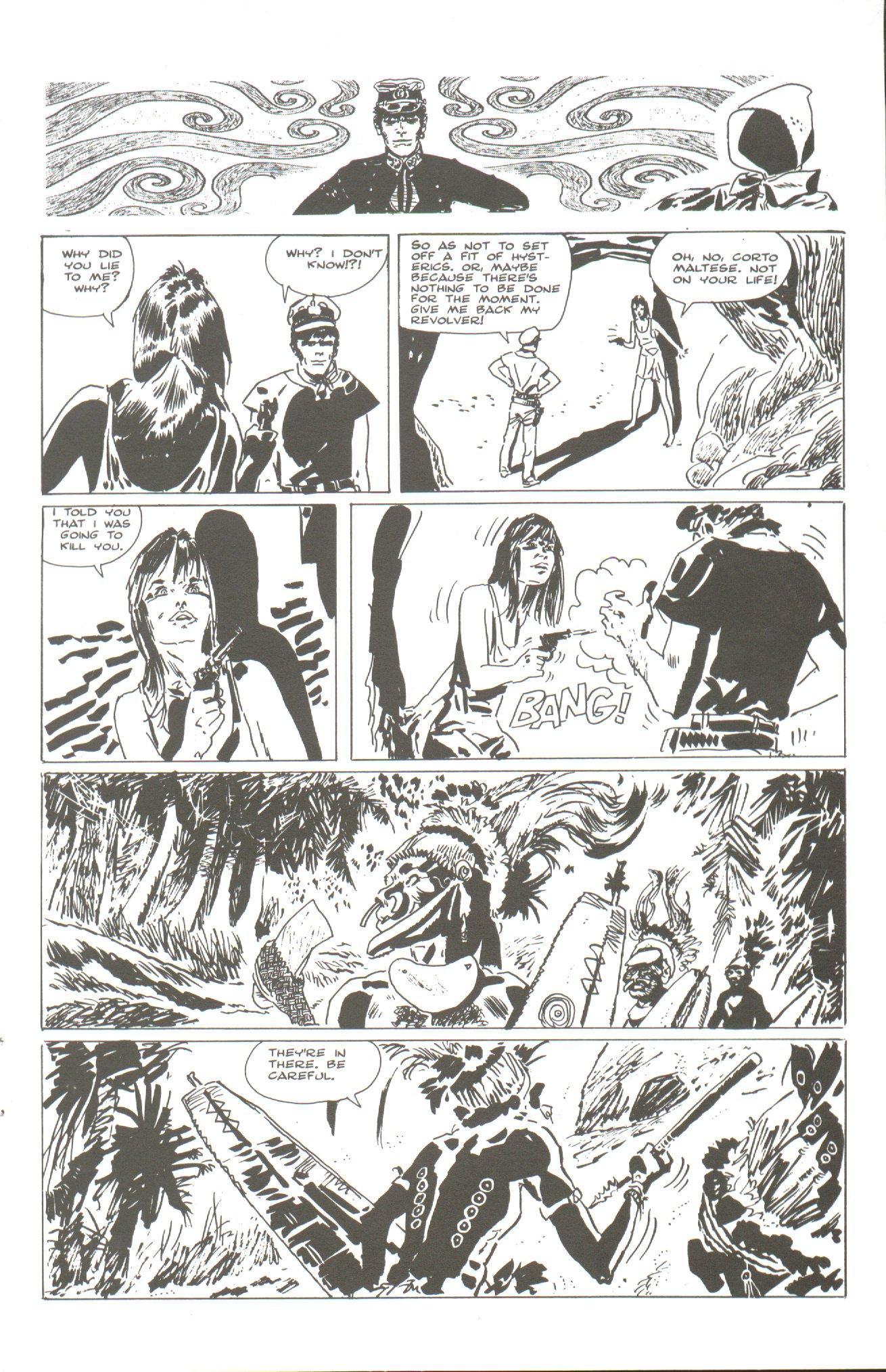 Read online Corto Maltese: Ballad of the Salt Sea comic -  Issue #2 - 11