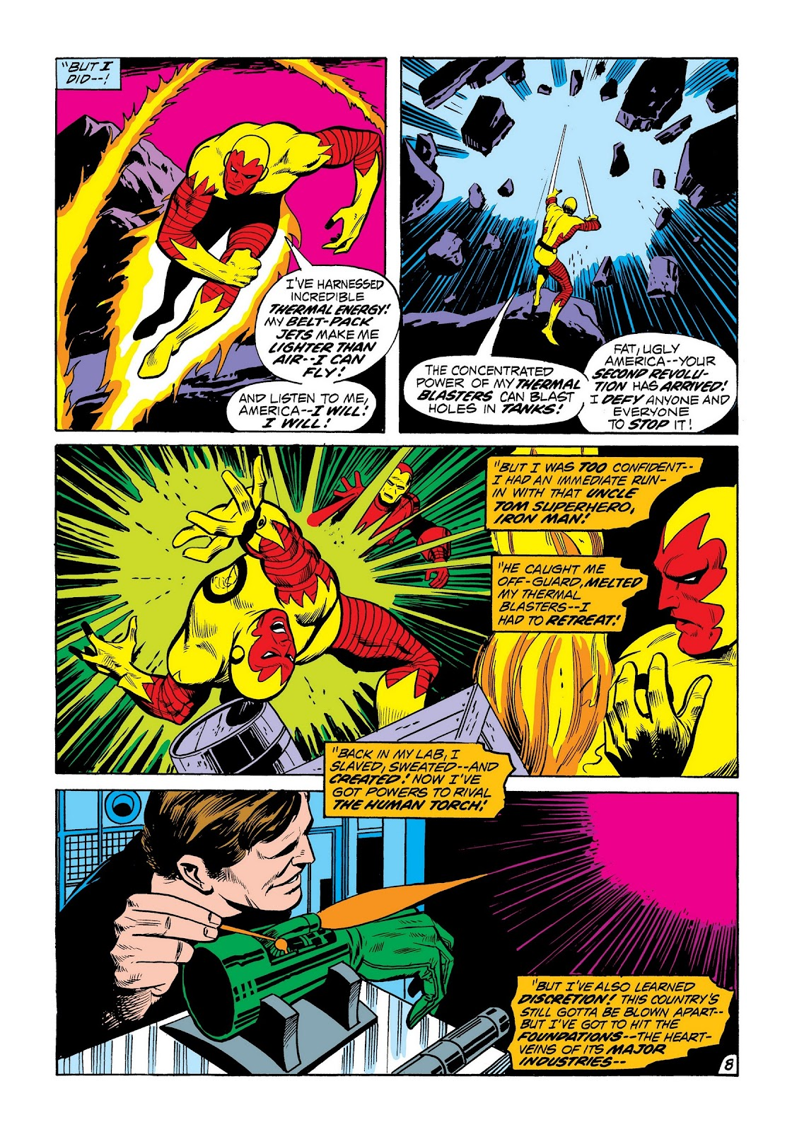 Read online Marvel Masterworks: The Invincible Iron Man comic -  Issue # TPB 8 (Part 2) - 96