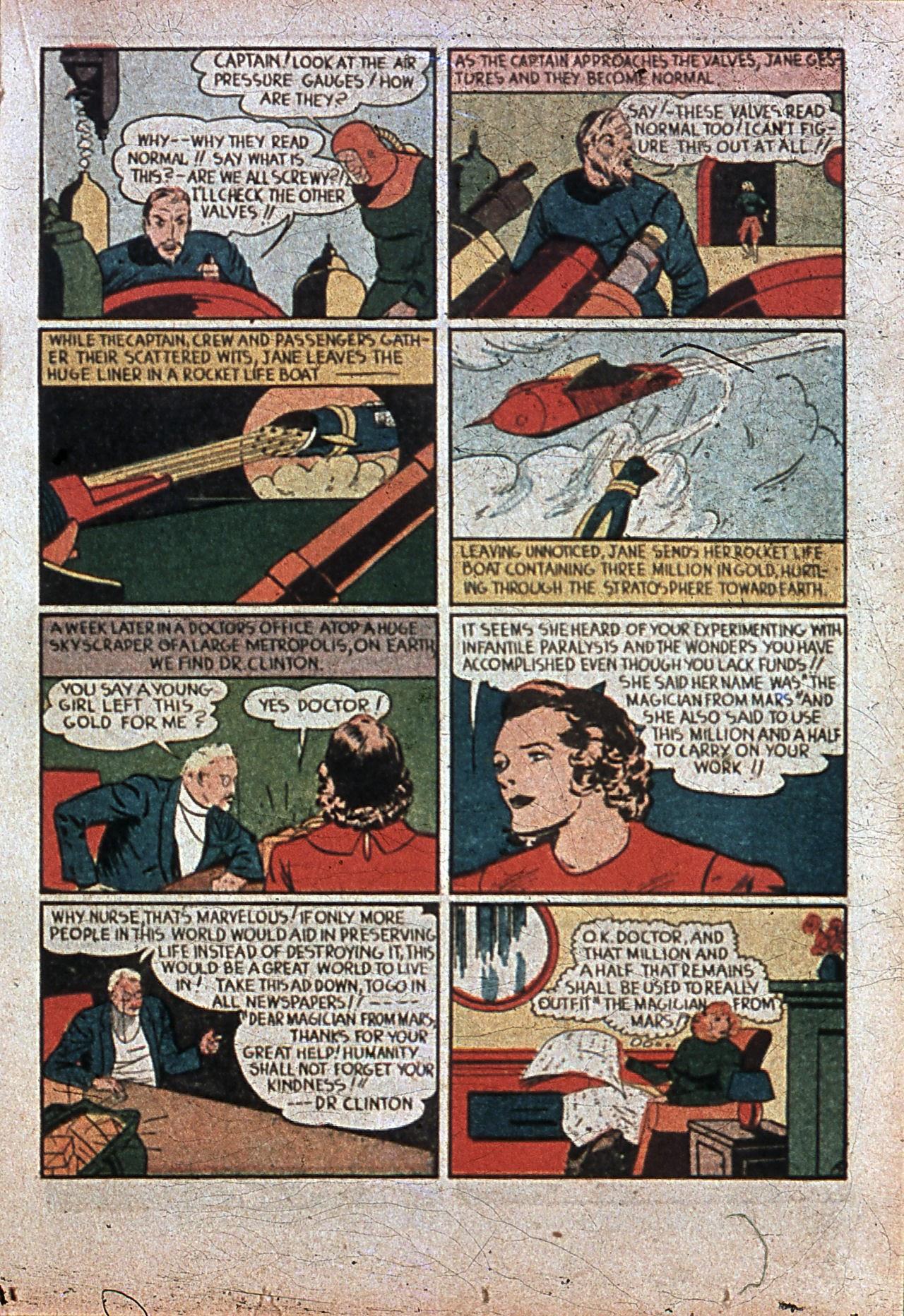 Read online Amazing Man Comics comic -  Issue #7 - 36