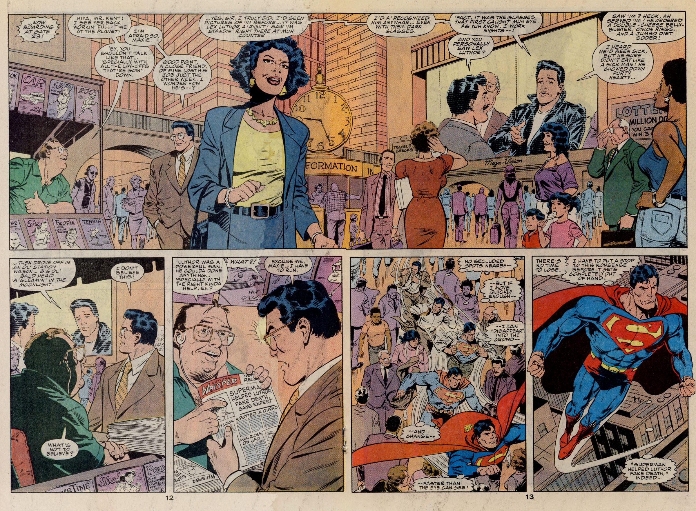 Read online Action Comics (1938) comic -  Issue #668 - 18