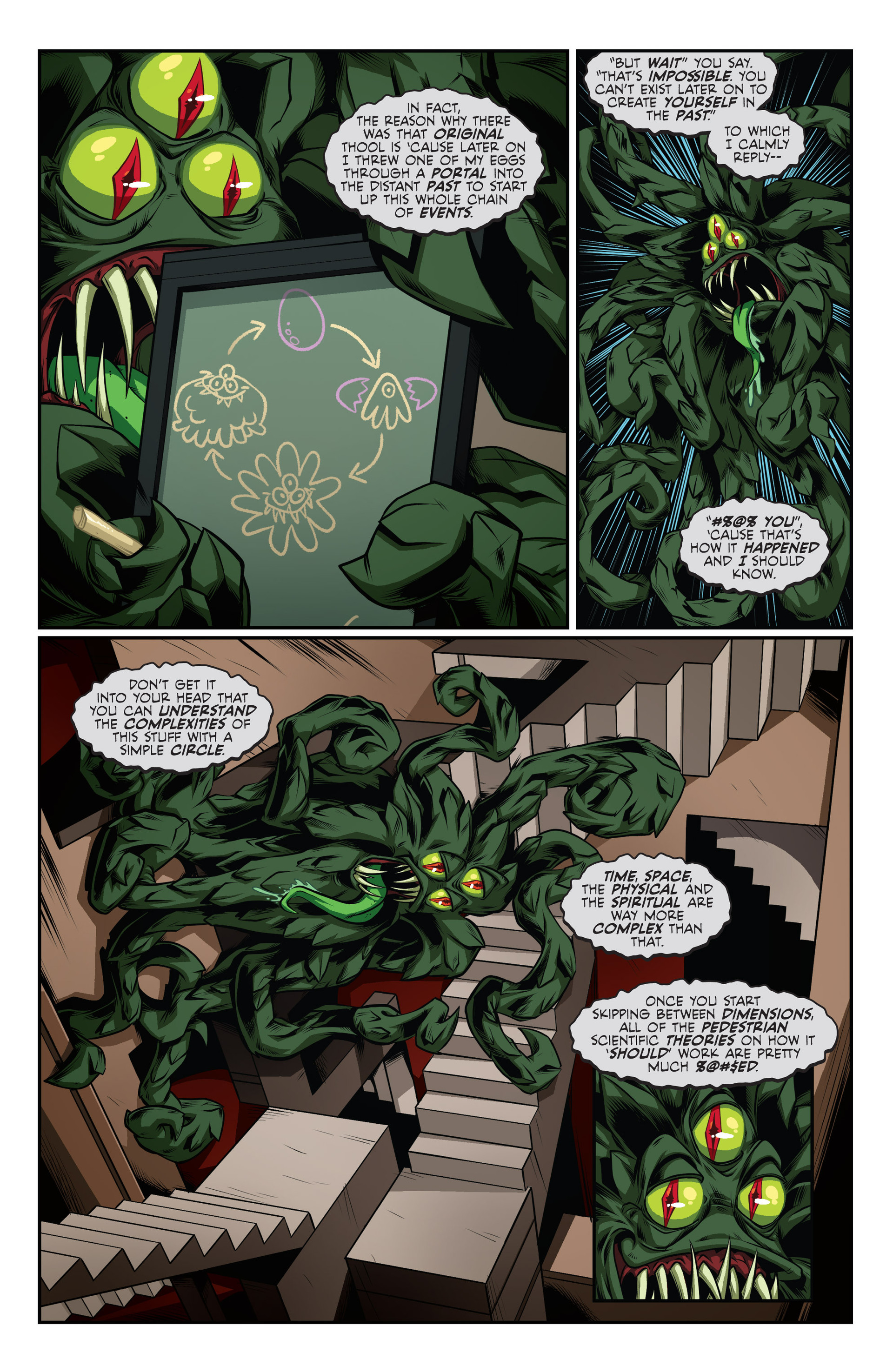 Read online Skullkickers comic -  Issue #24 - 25