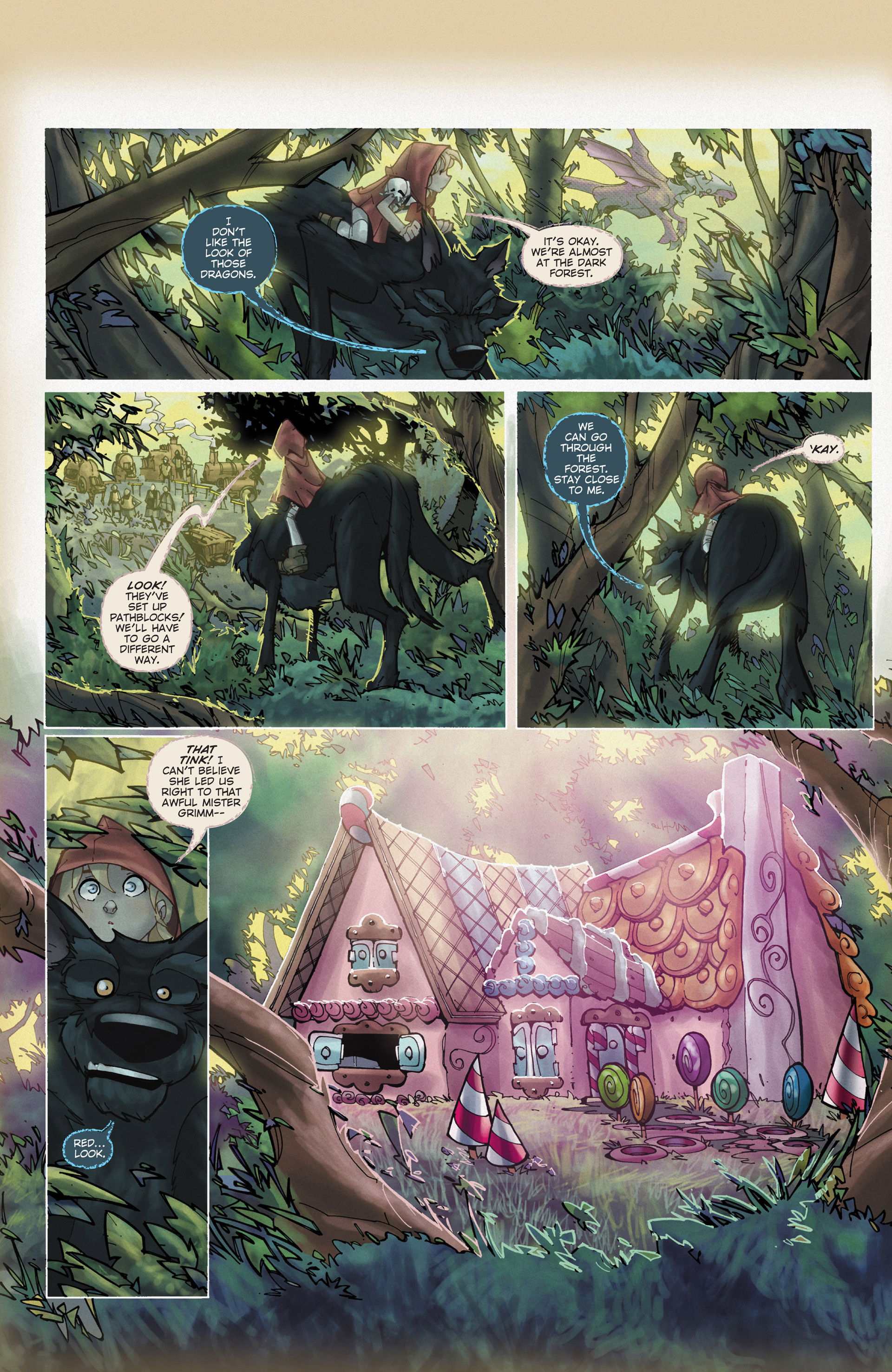 Read online Fairy Quest: Outlaws comic -  Issue #2 - 22