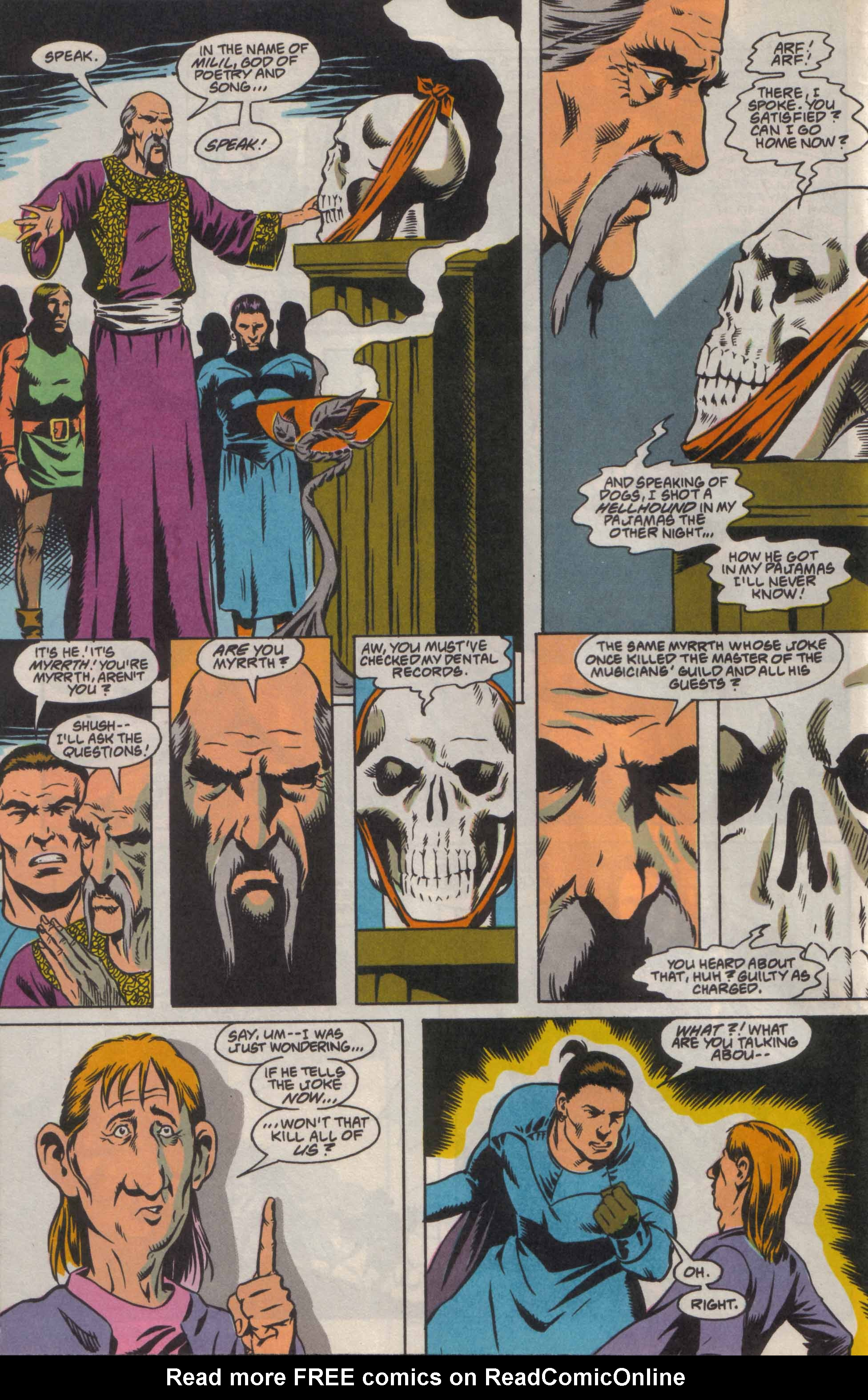Read online Advanced Dungeons & Dragons comic -  Issue #8 - 9