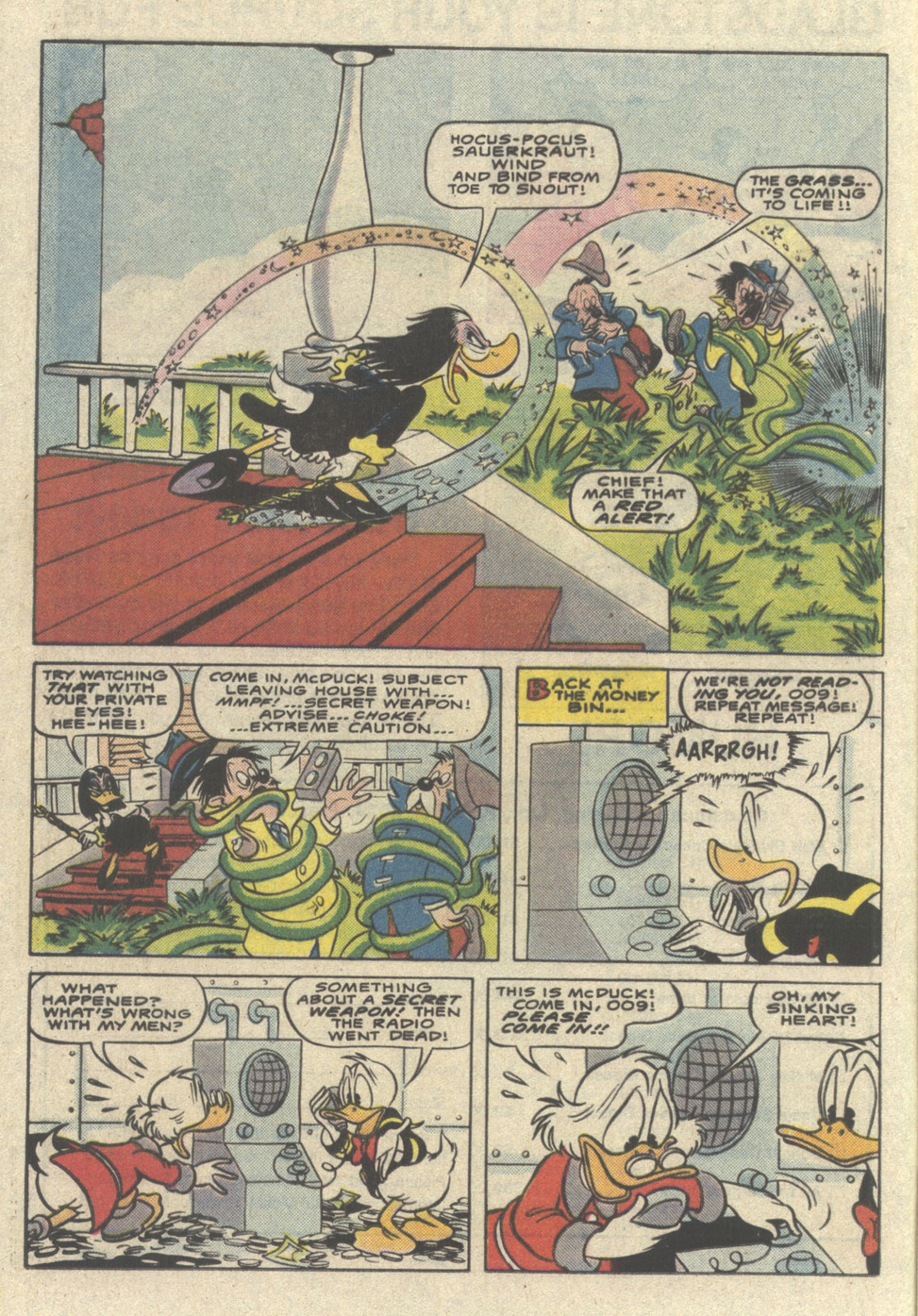 Read online Uncle Scrooge (1953) comic -  Issue #221 - 12