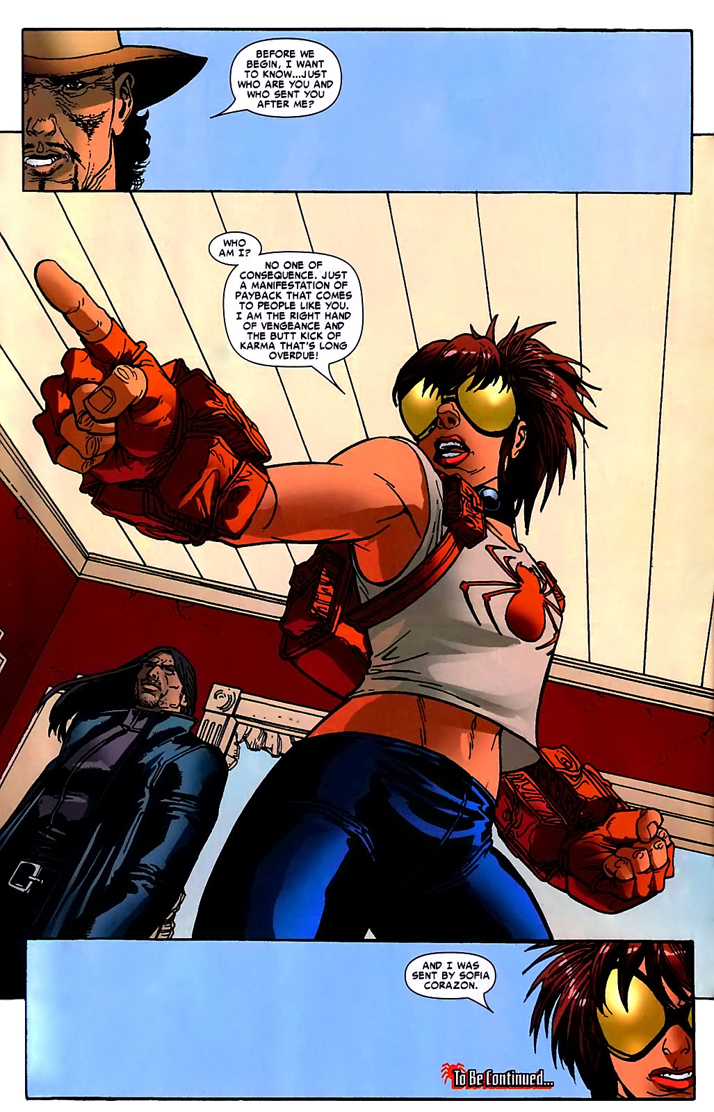 Read online Araña: Heart of the Spider comic -  Issue #10 - 24
