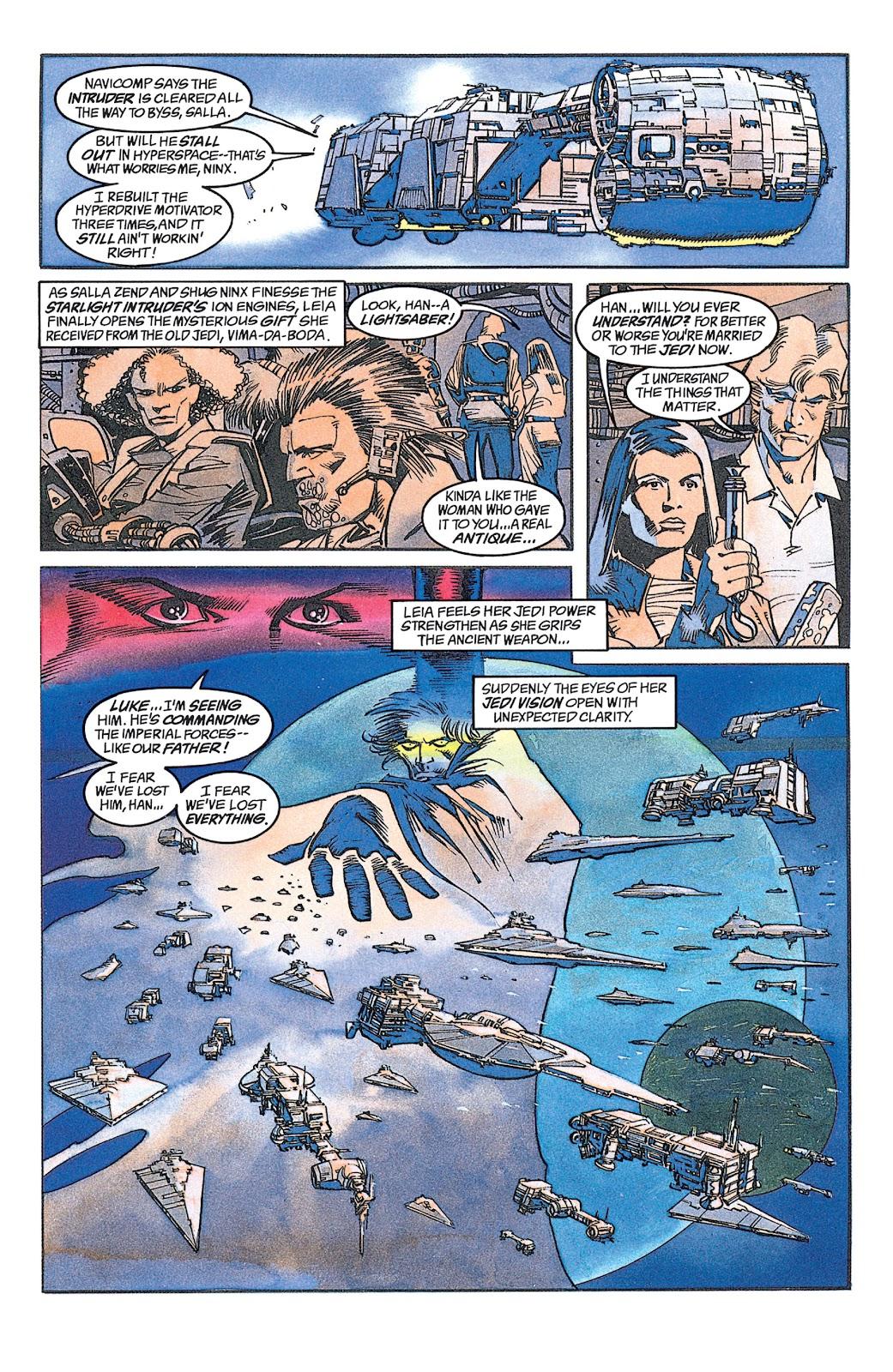 Read online Star Wars: Dark Empire Trilogy comic -  Issue # TPB (Part 1) - 88