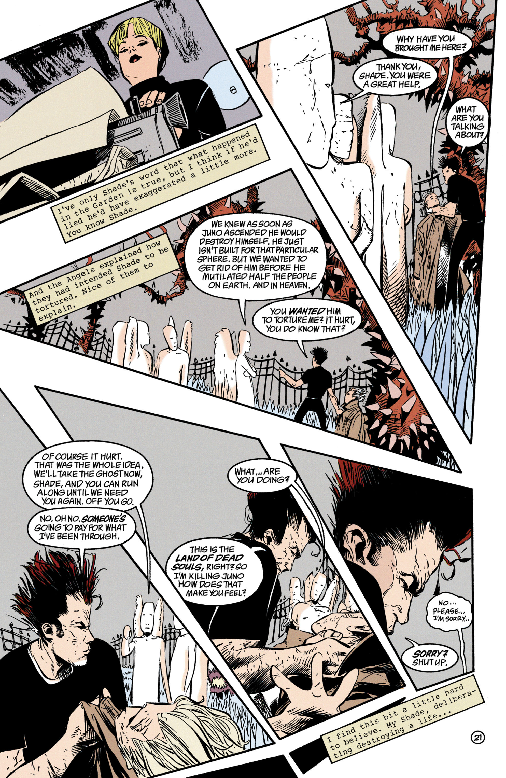 Read online Shade, the Changing Man comic -  Issue #35 - 22