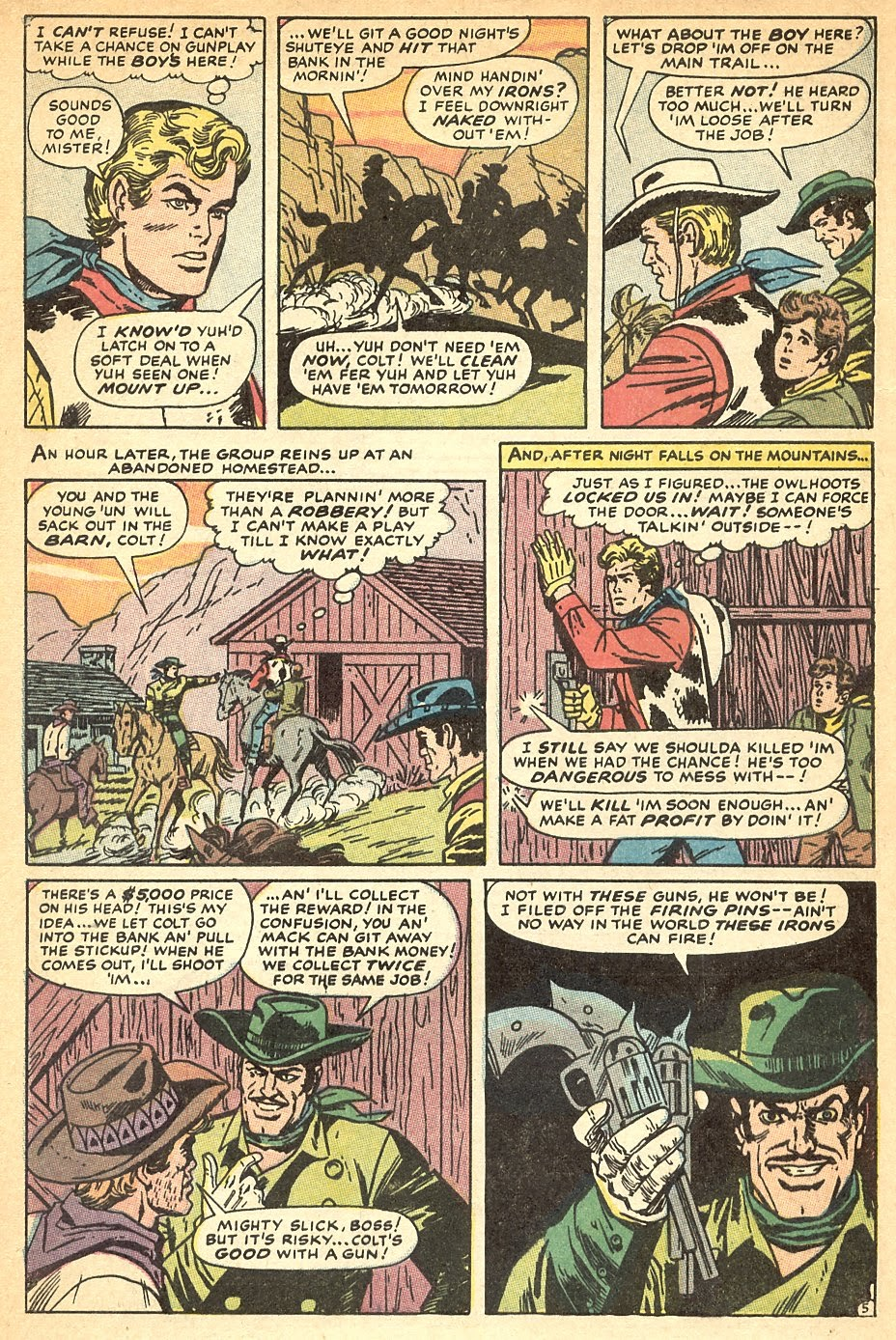 Kid Colt Outlaw issue 140 - Page 8